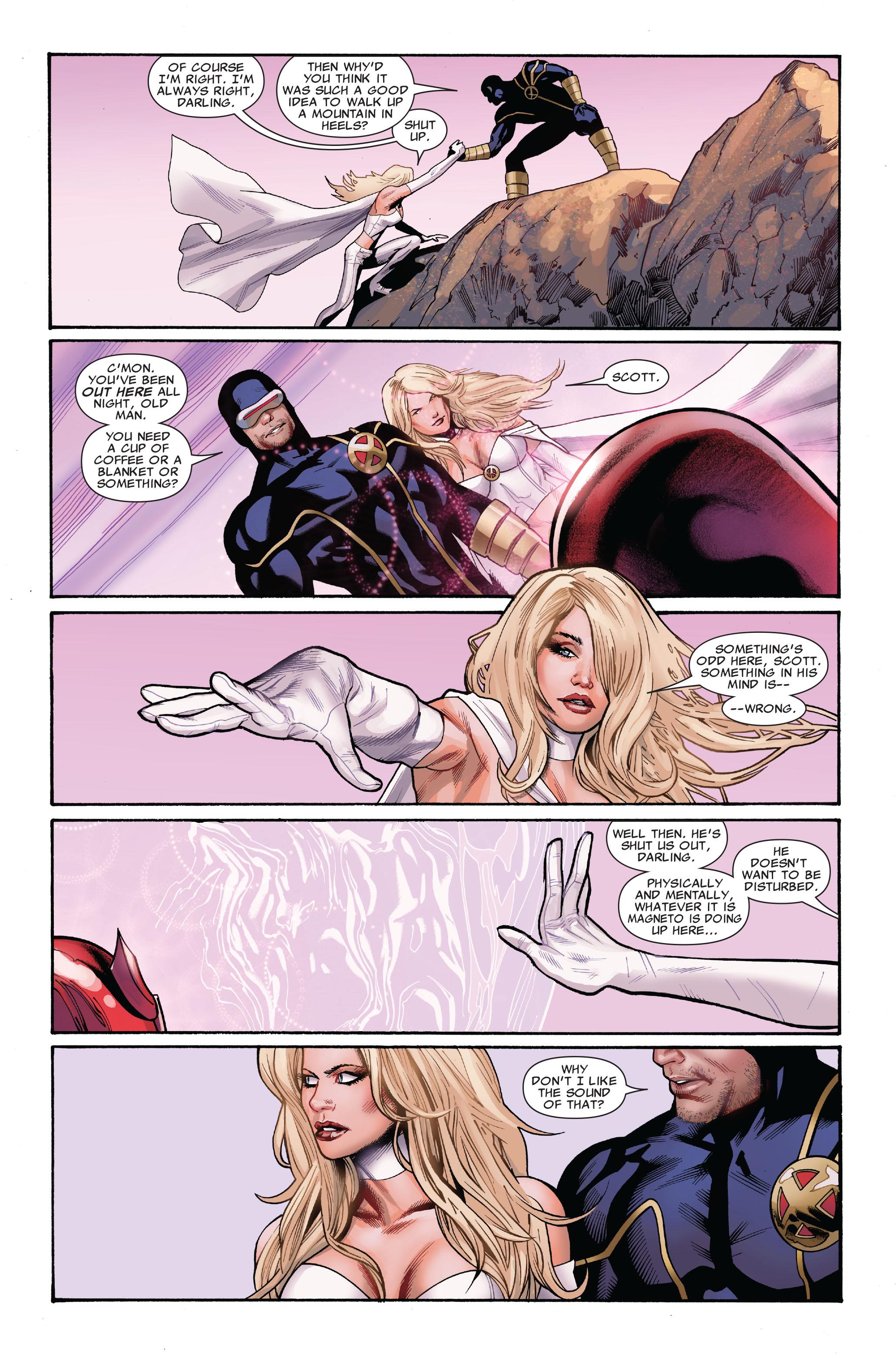 Read online Uncanny X-Men (1963) comic -  Issue #521 - 4