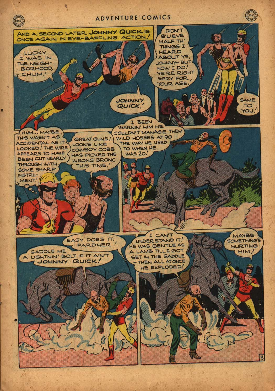 Read online Adventure Comics (1938) comic -  Issue #109 - 21
