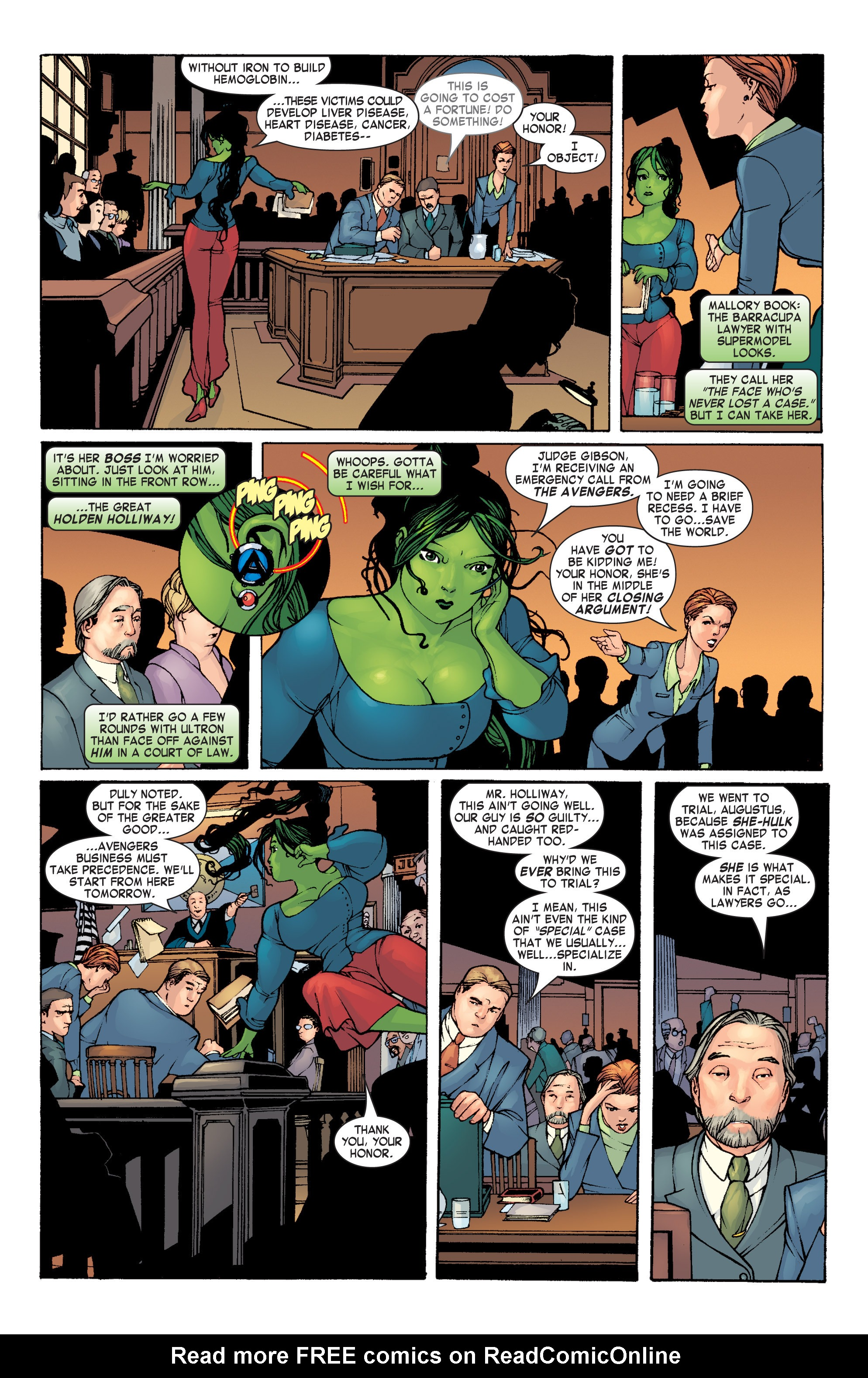 Read online She-Hulk (2004) comic -  Issue #1 - 9