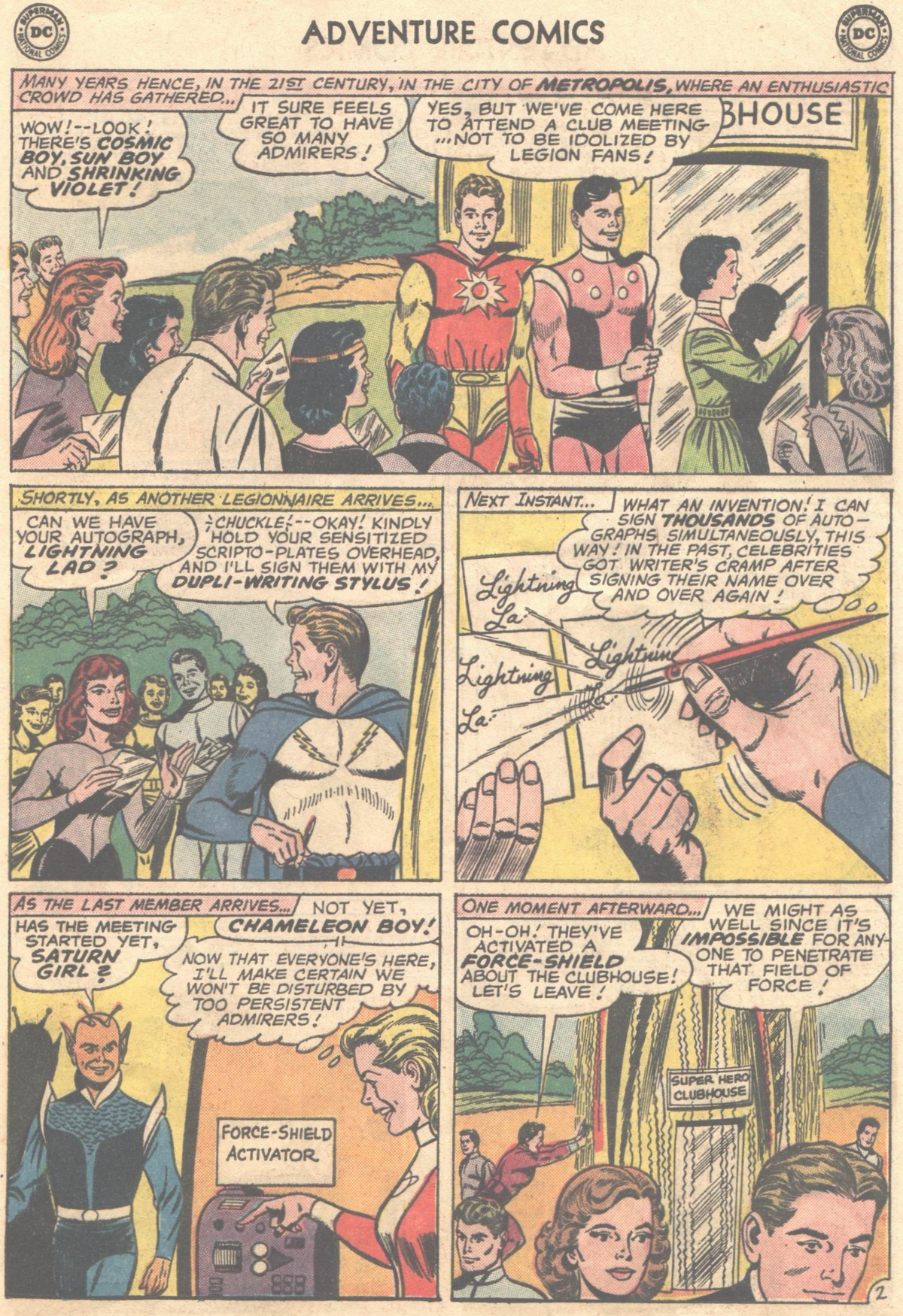 Read online Adventure Comics (1938) comic -  Issue #498 - 13