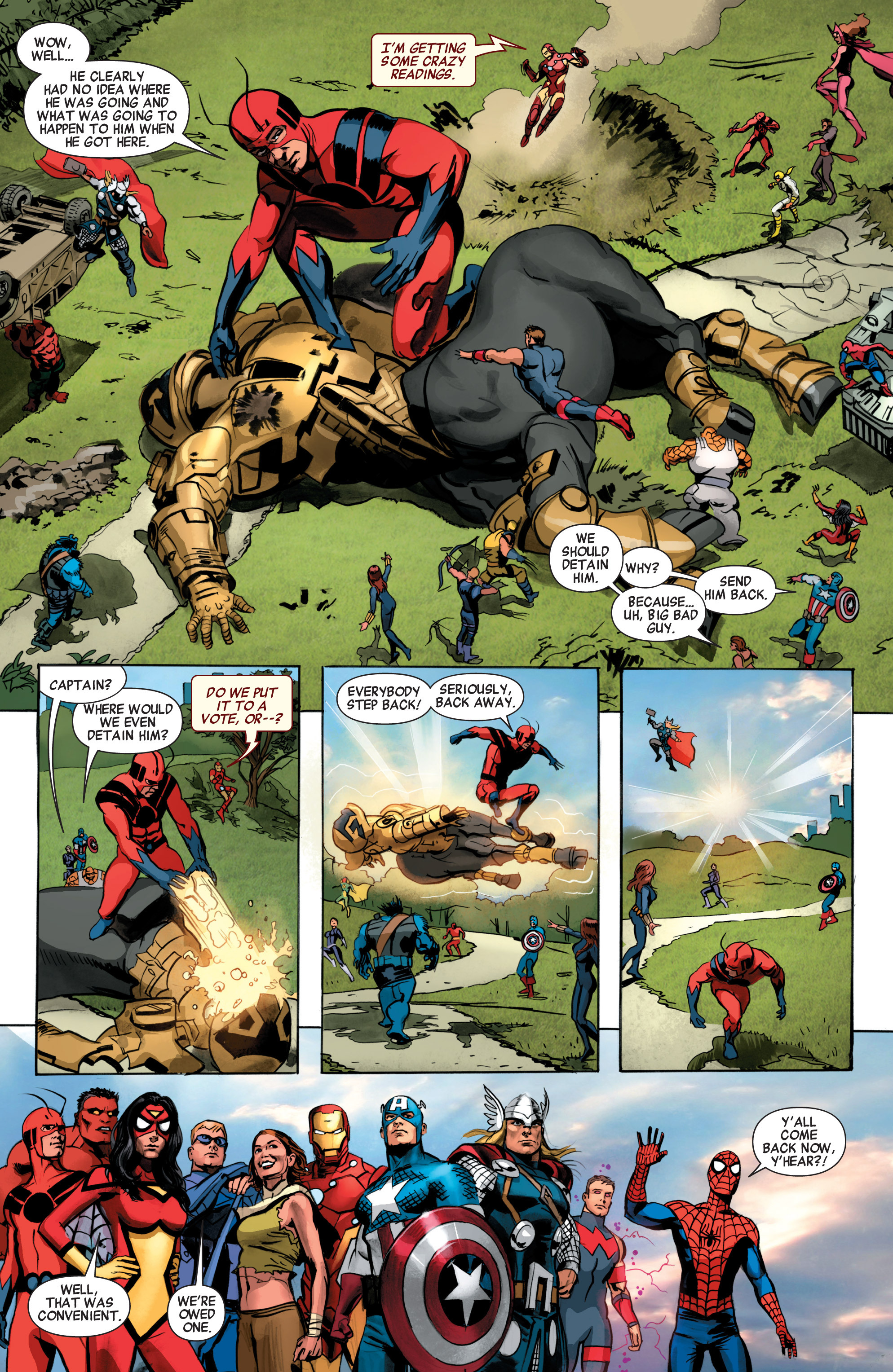 Read online Avengers (2010) comic -  Issue #34 - 28