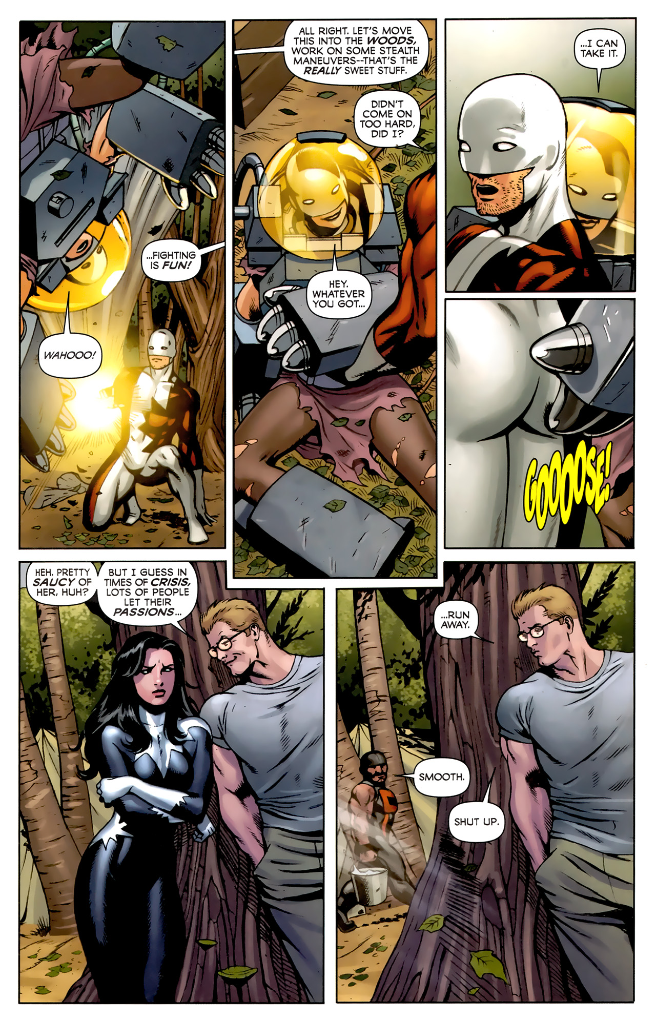 Read online Alpha Flight (2011) comic -  Issue #5 - 19