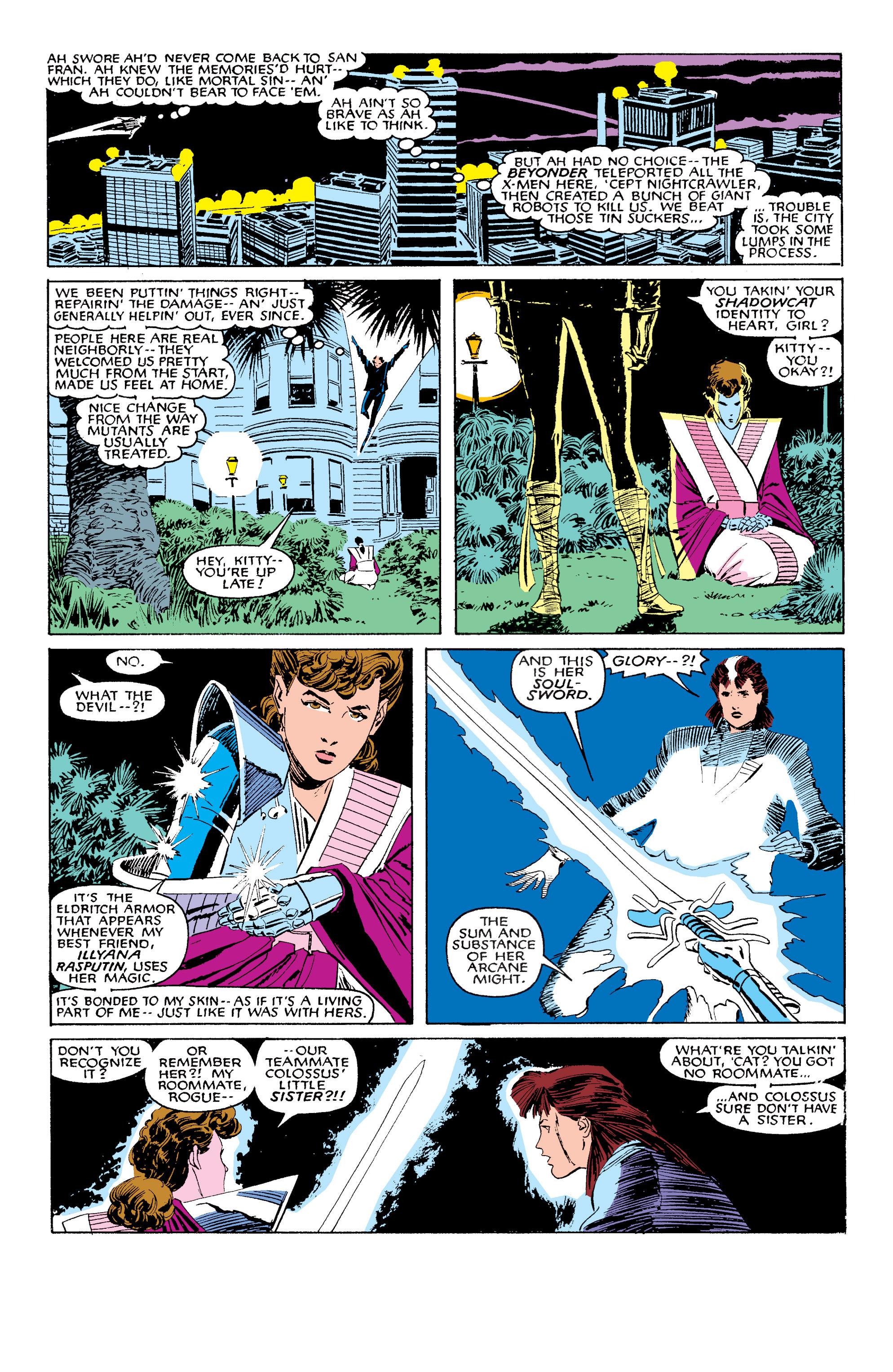 Read online Uncanny X-Men (1963) comic -  Issue #203 - 6
