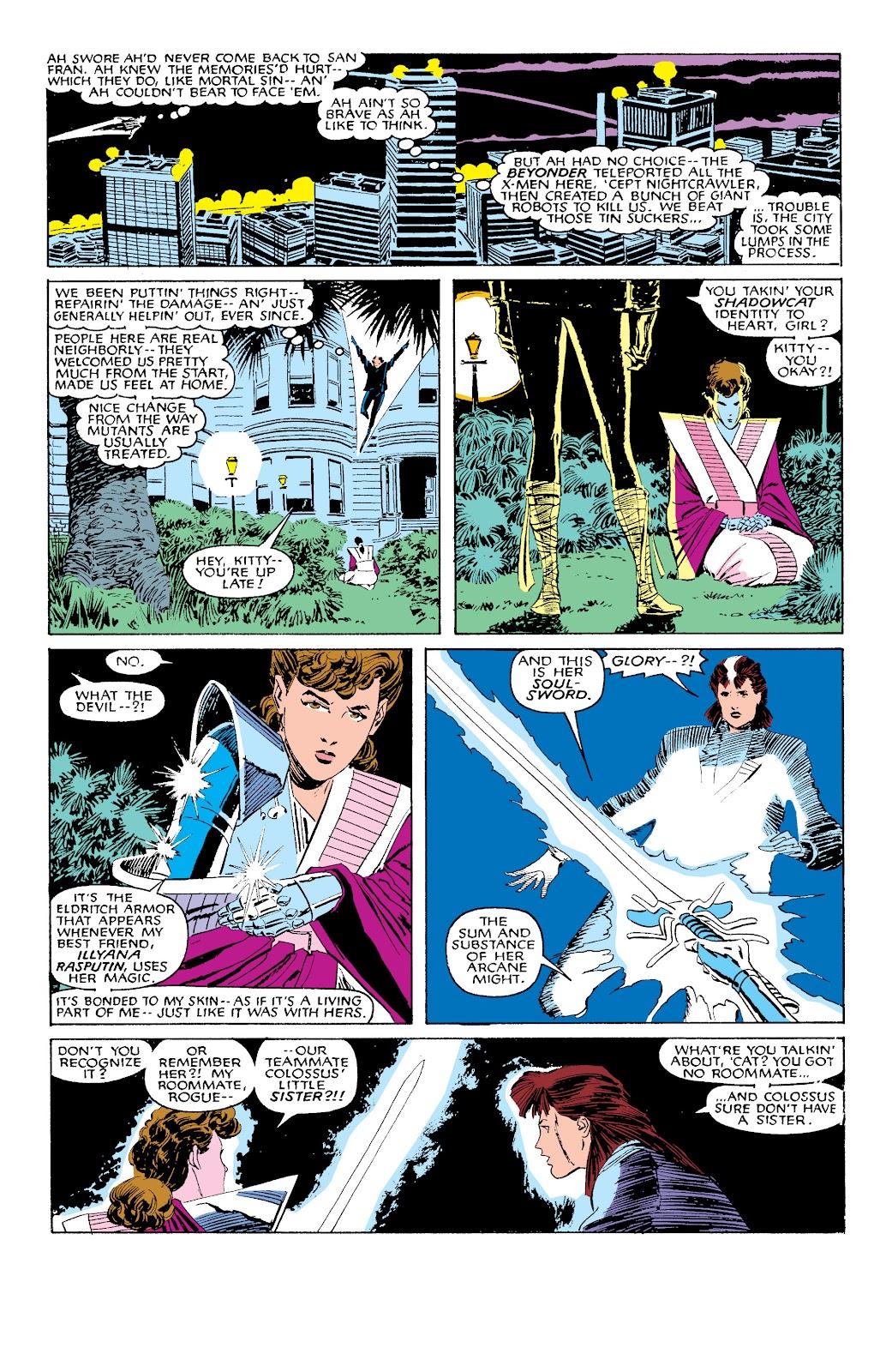 Uncanny X-Men (1963) issue 203 - Page 6