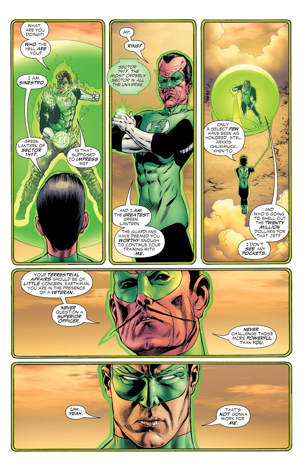 Read online Green Lantern by Geoff Johns comic -  Issue # TPB 1 (Part 2) - 22