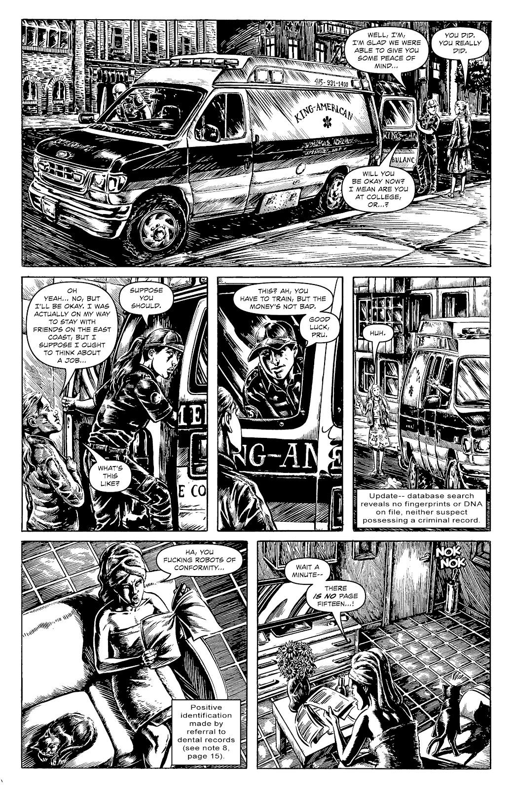 Read online Alan Moore's Cinema Purgatorio comic -  Issue #17 - 20