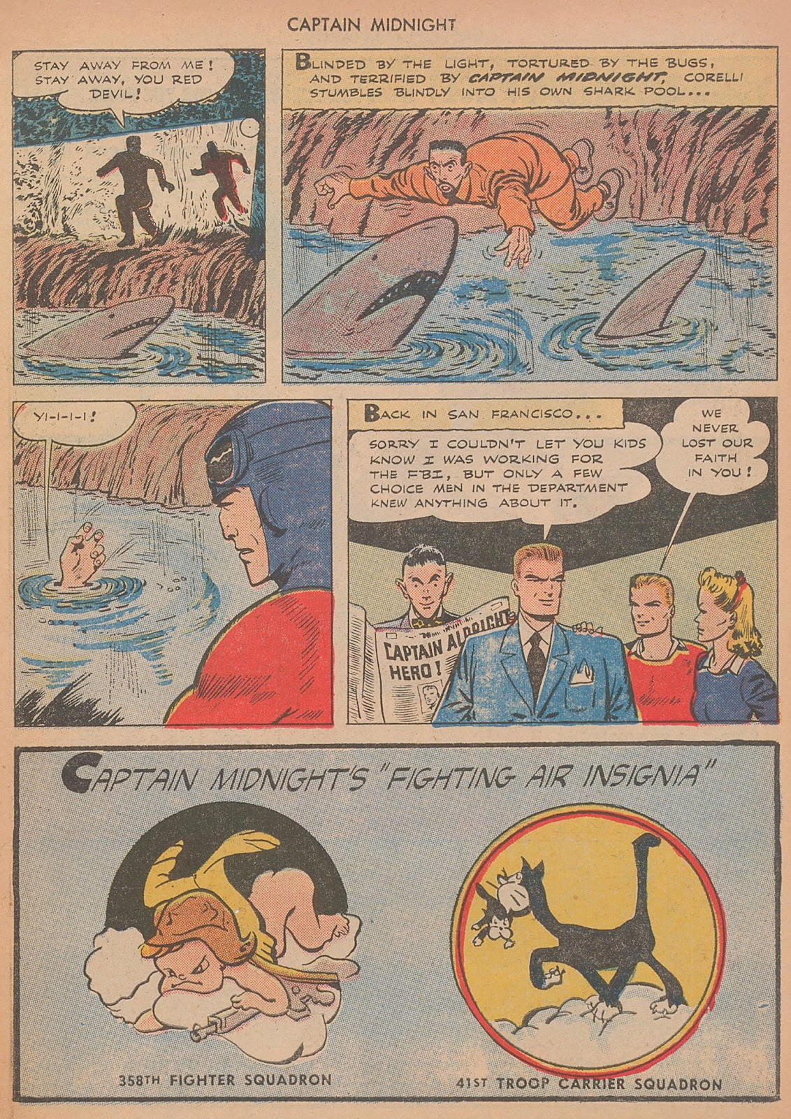 Captain Midnight (1942) issue 29 - Page 11