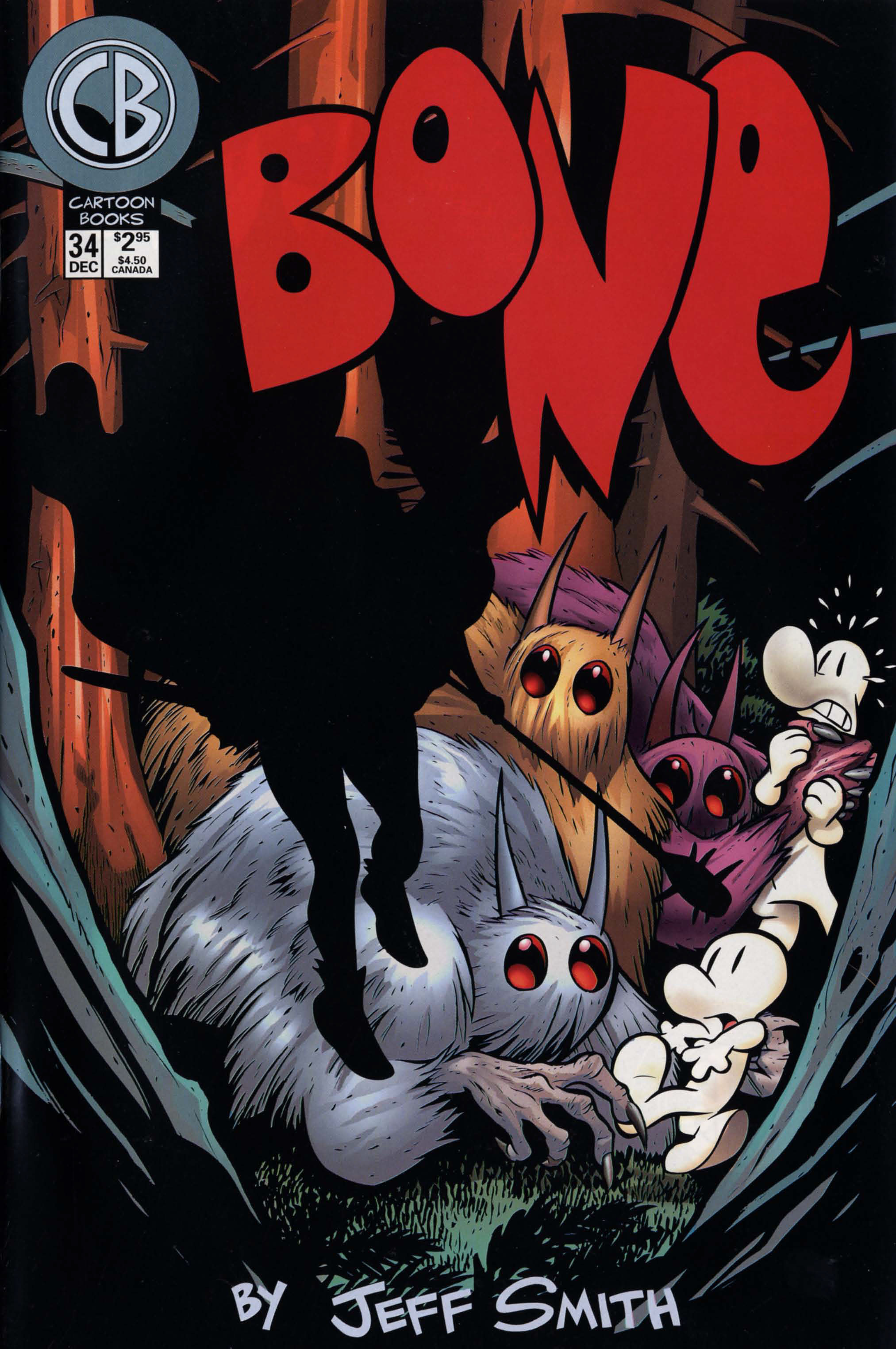 Bone 1991 Issue 34