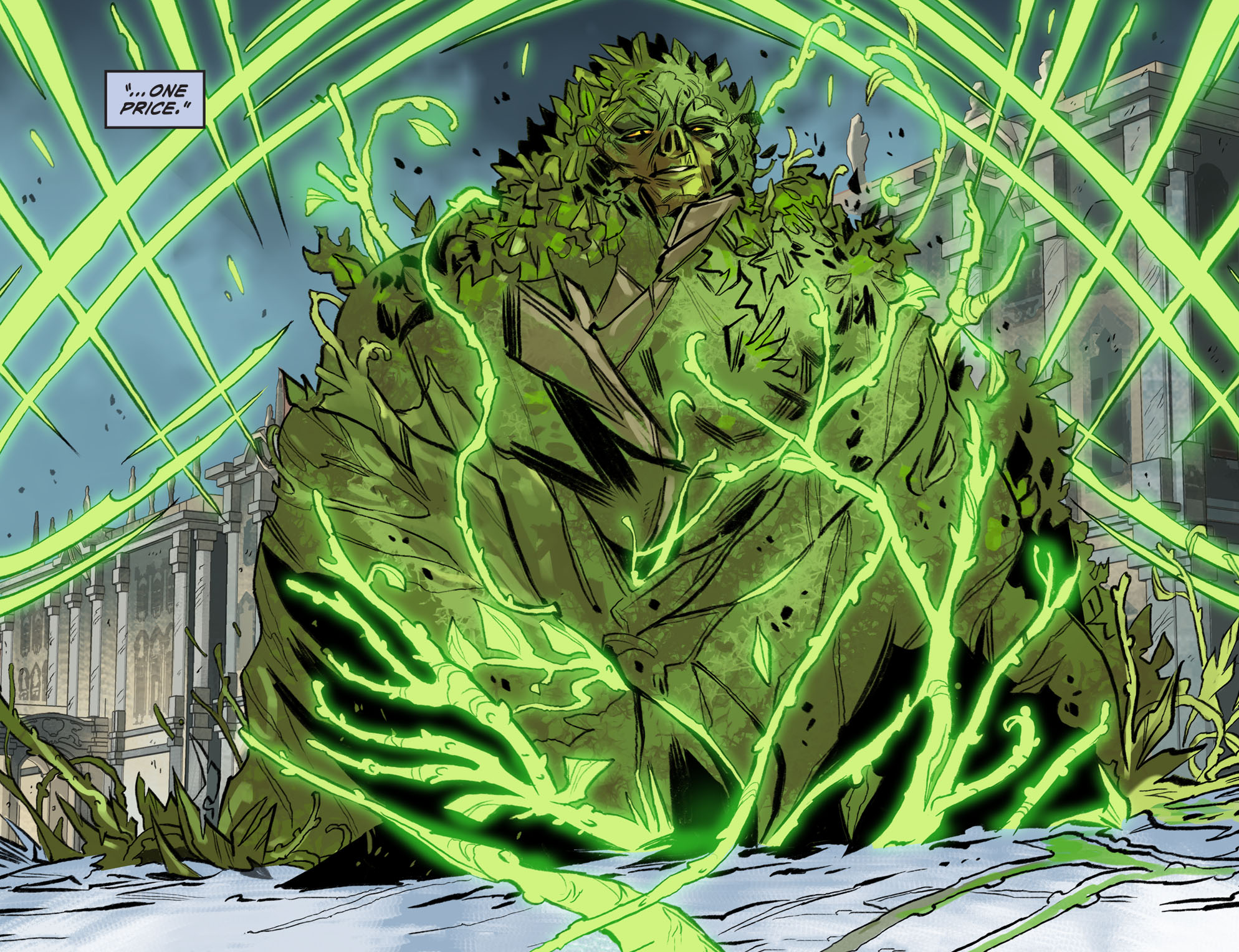 Read online DC Comics: Bombshells comic -  Issue #99 - 20