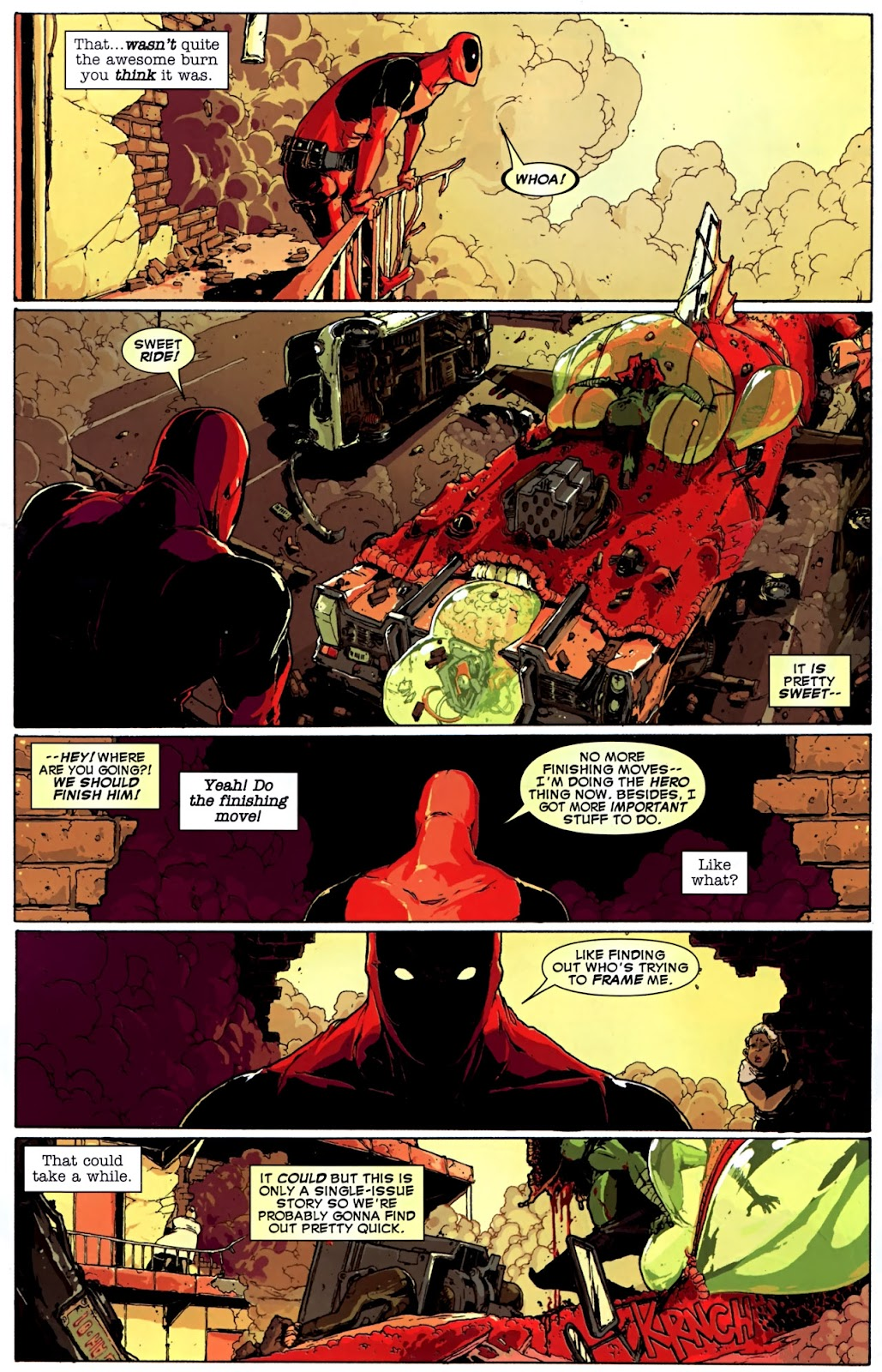 Read online Deadpool (2008) comic -  Issue #32 - 8