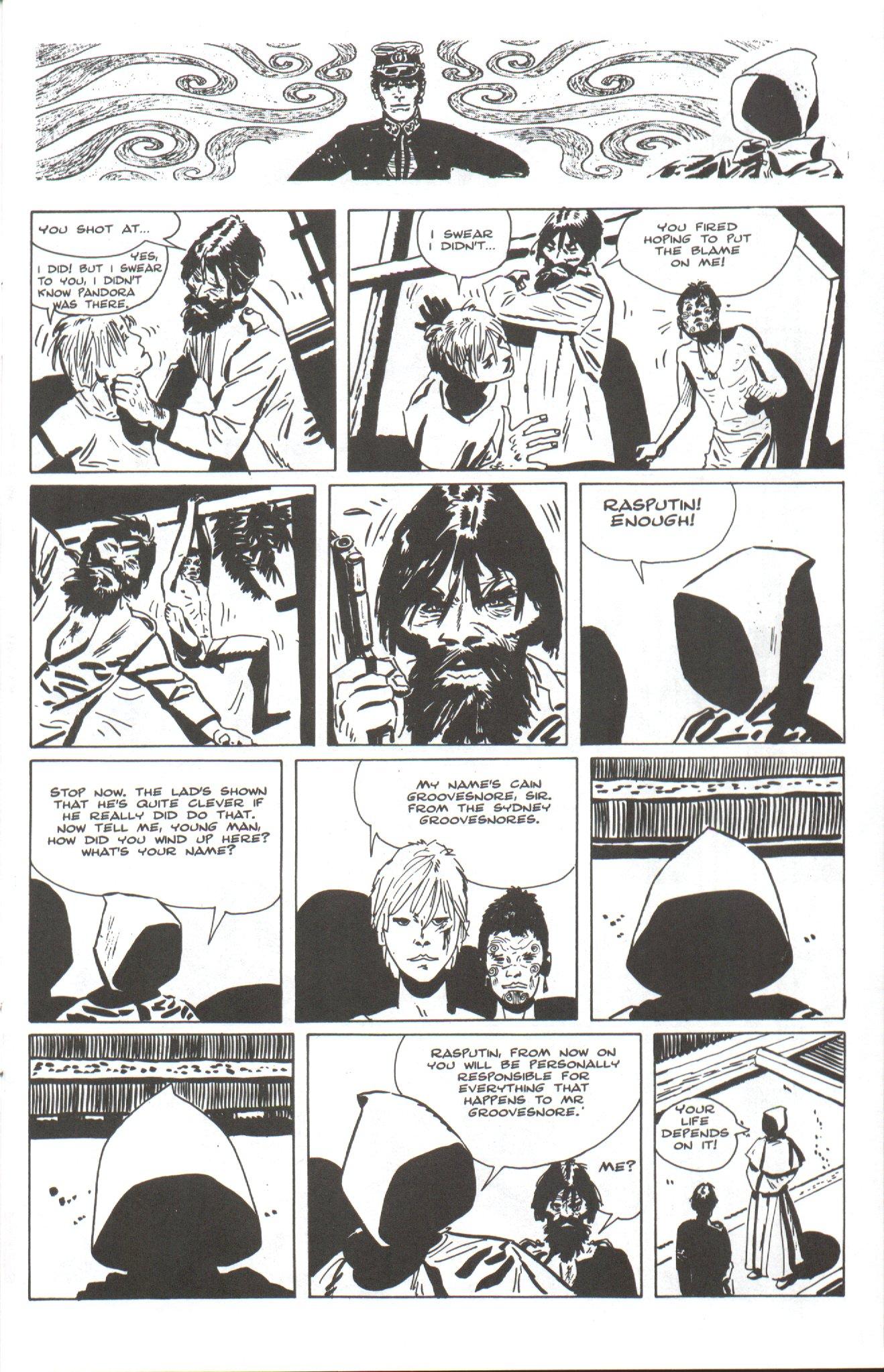 Read online Corto Maltese: Ballad of the Salt Sea comic -  Issue #4 - 11