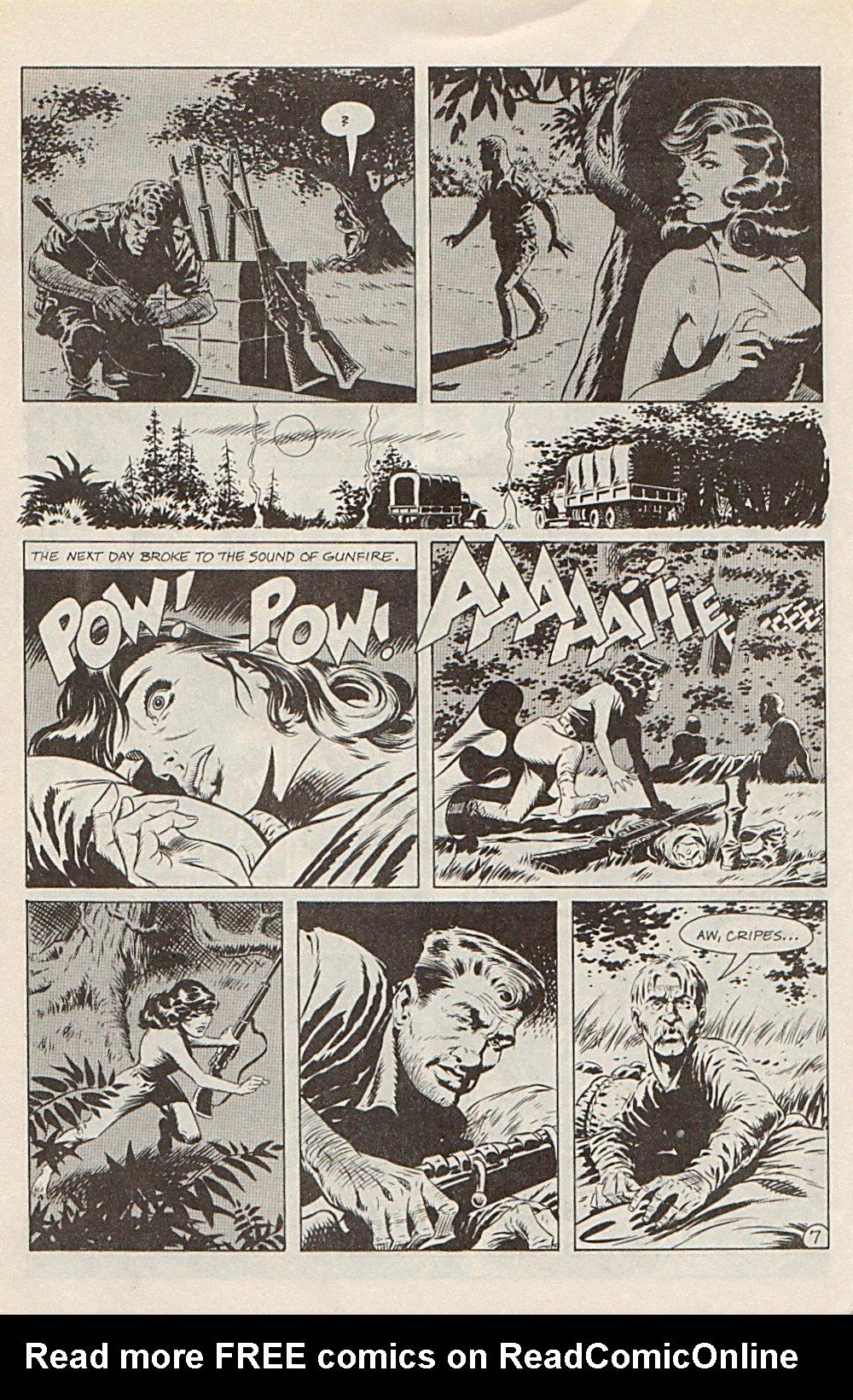 Read online Xenozoic Tales comic -  Issue #1 - 31