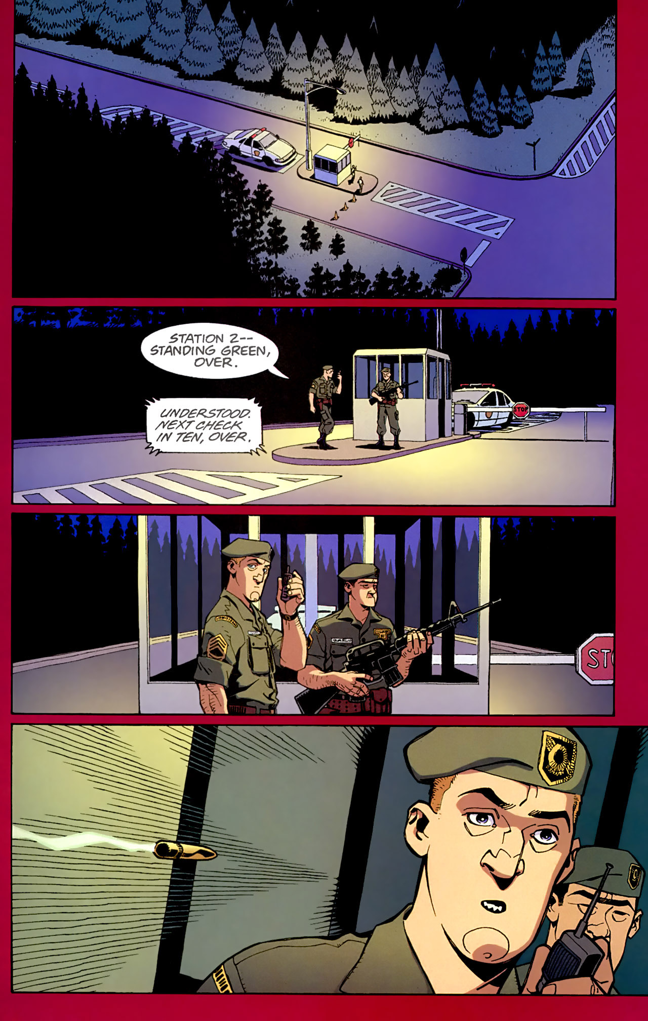 Read online Red comic -  Issue #3 - 2