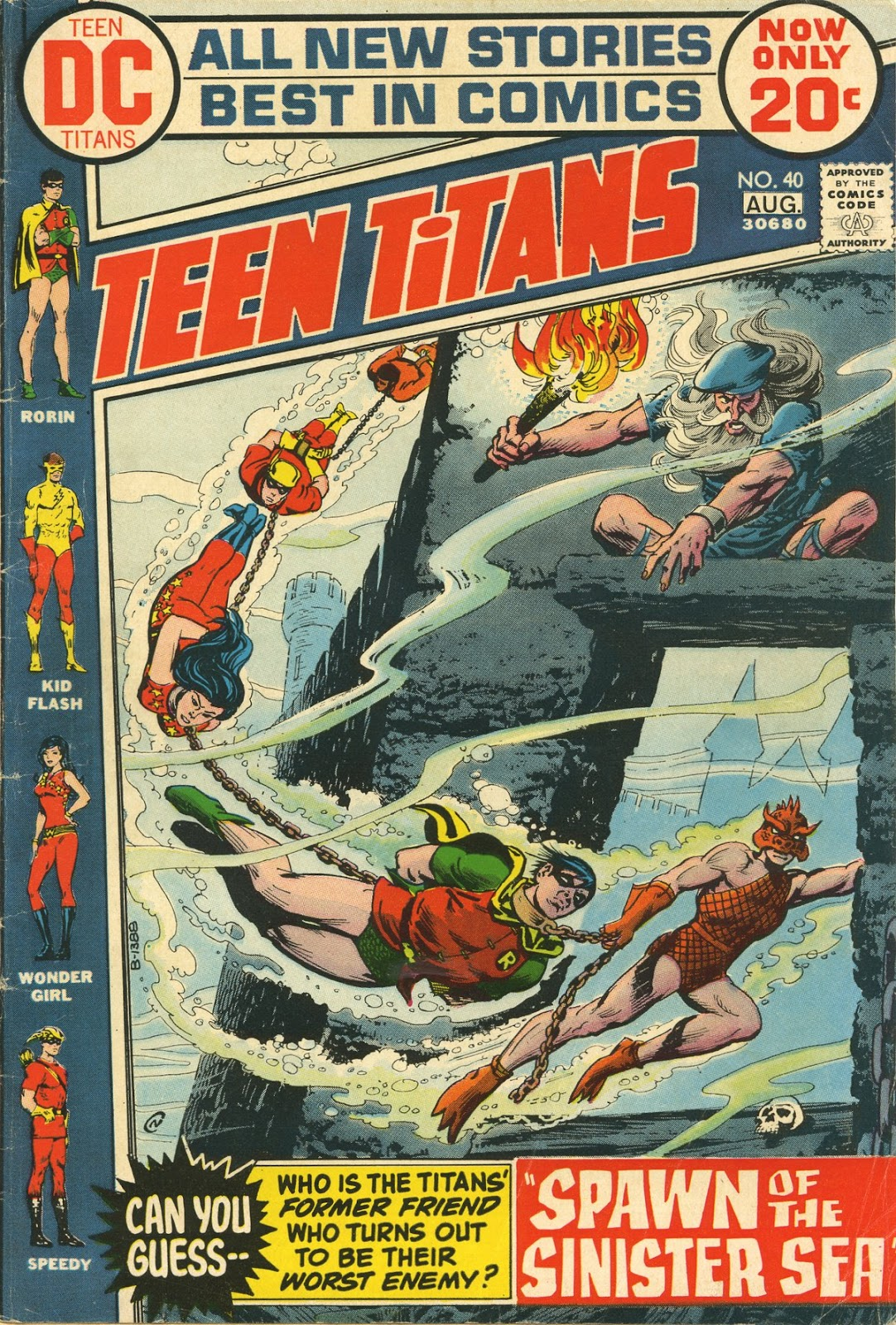Teen Titans (1966) issue 40 - Page 1