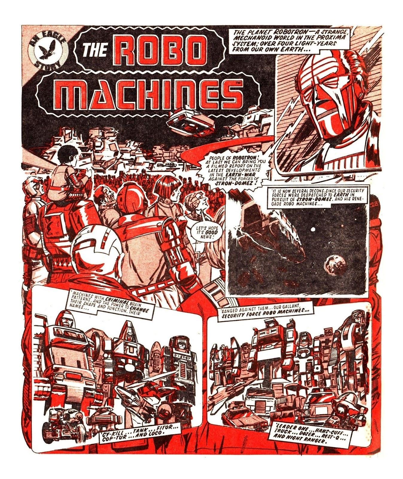 Read online Robo Machines comic -  Issue # TPB - 67