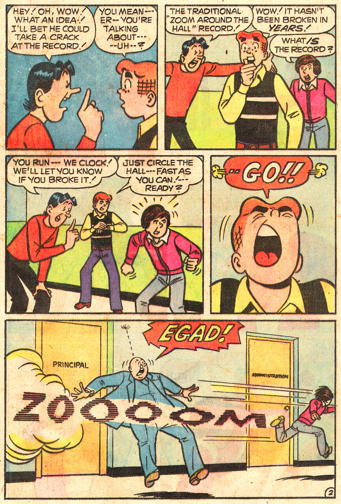 Read online Archie (1960) comic -  Issue #250 - 21