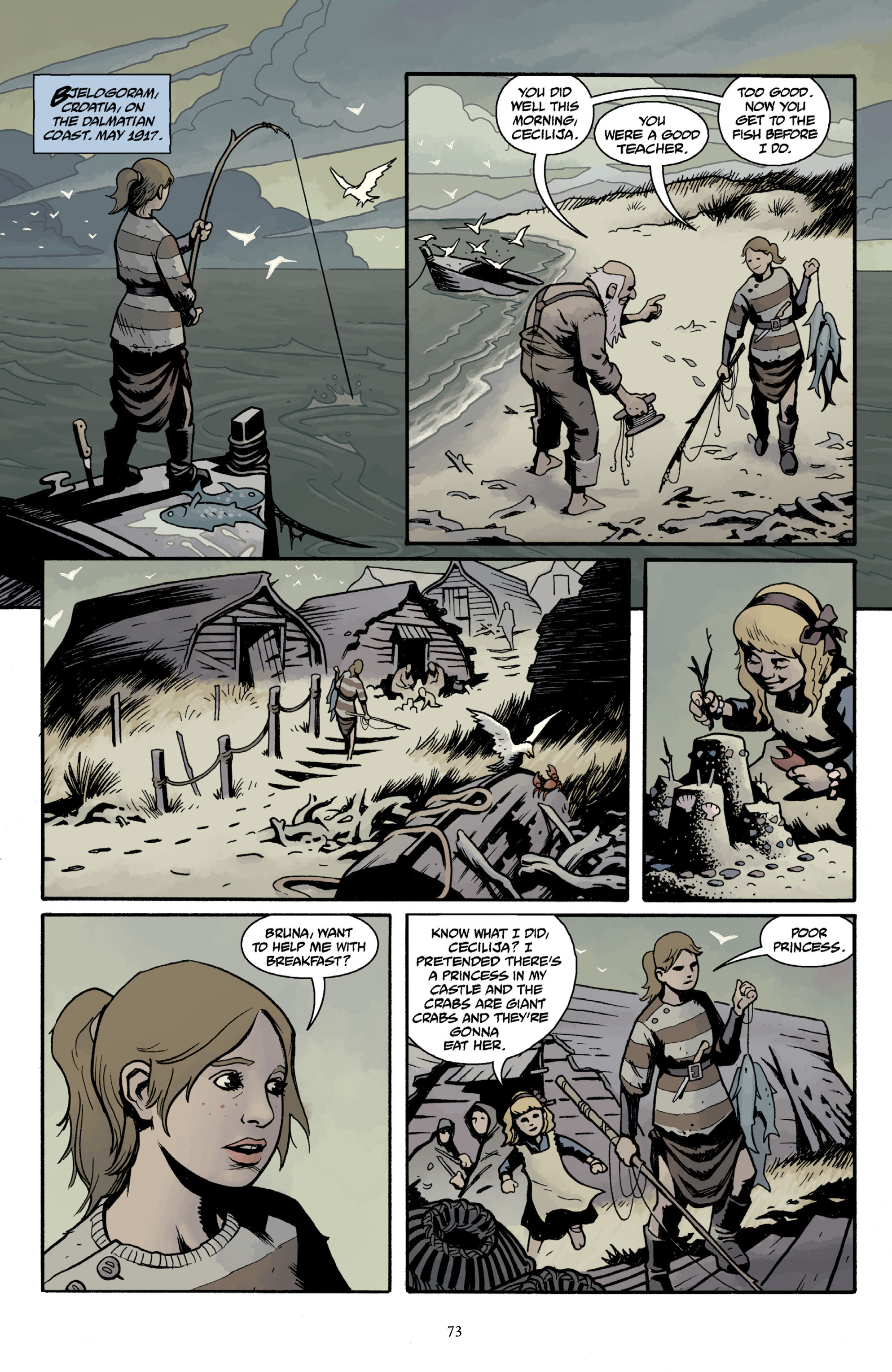 Read online Baltimore Volume 3: A Passing Stranger and Other Stories comic -  Issue # Full - 75