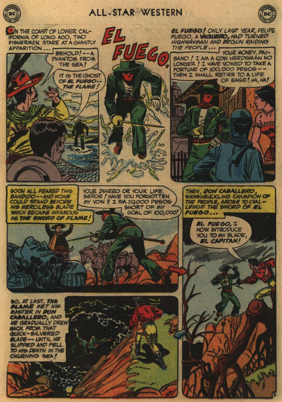 Read online All-Star Western (1951) comic -  Issue #60 - 16