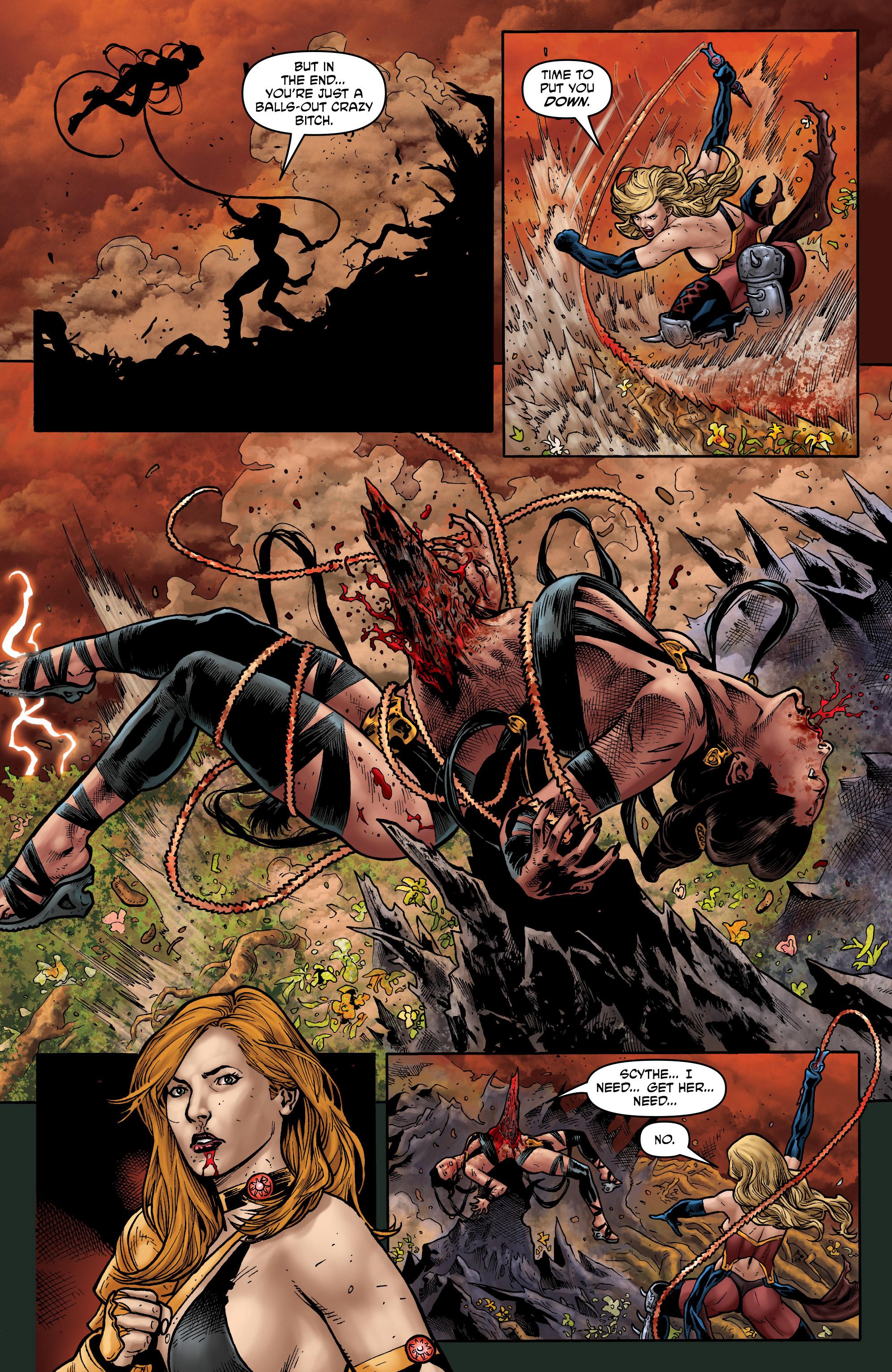 Read online Hellina: Scythe comic -  Issue #4 - 14