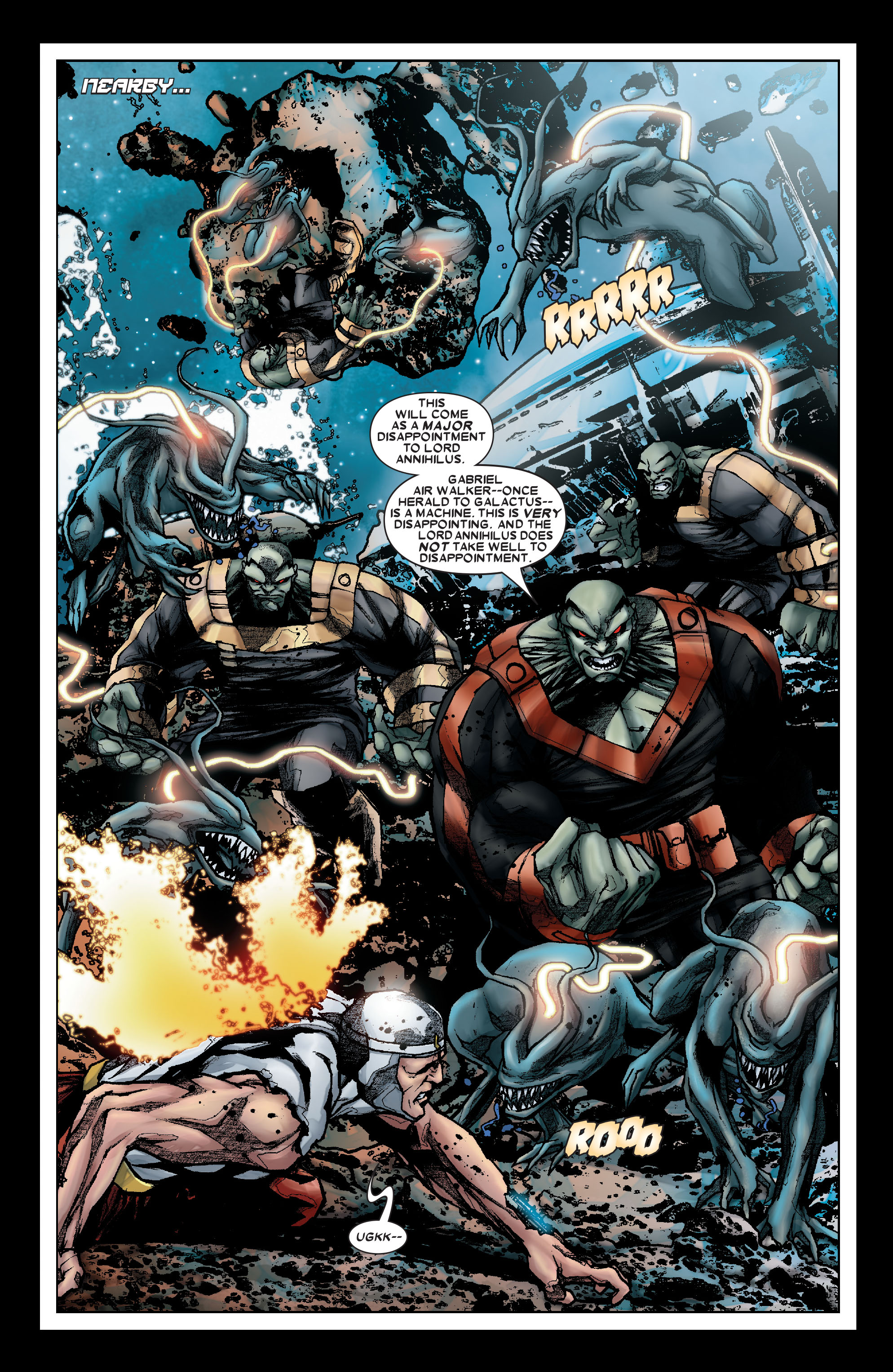 Read online Annihilation: Silver Surfer comic -  Issue #1 - 5