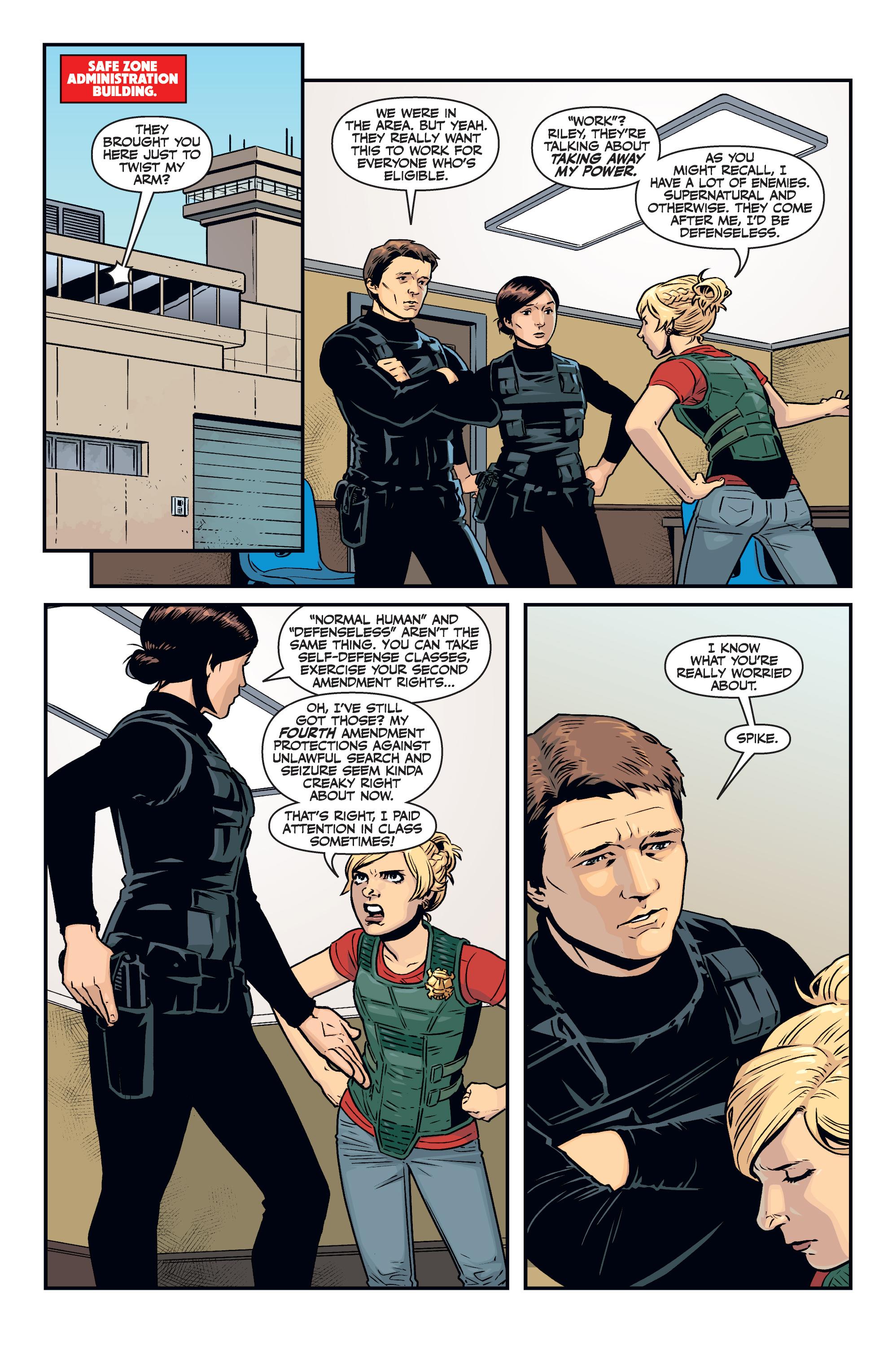 Read online Buffy the Vampire Slayer Season 11 comic -  Issue #7 - 12