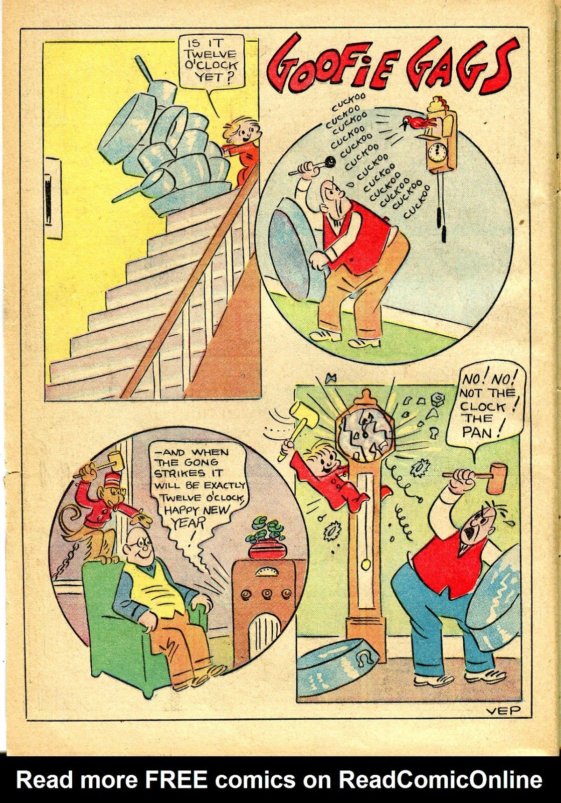 Read online Famous Funnies comic -  Issue #54 - 4