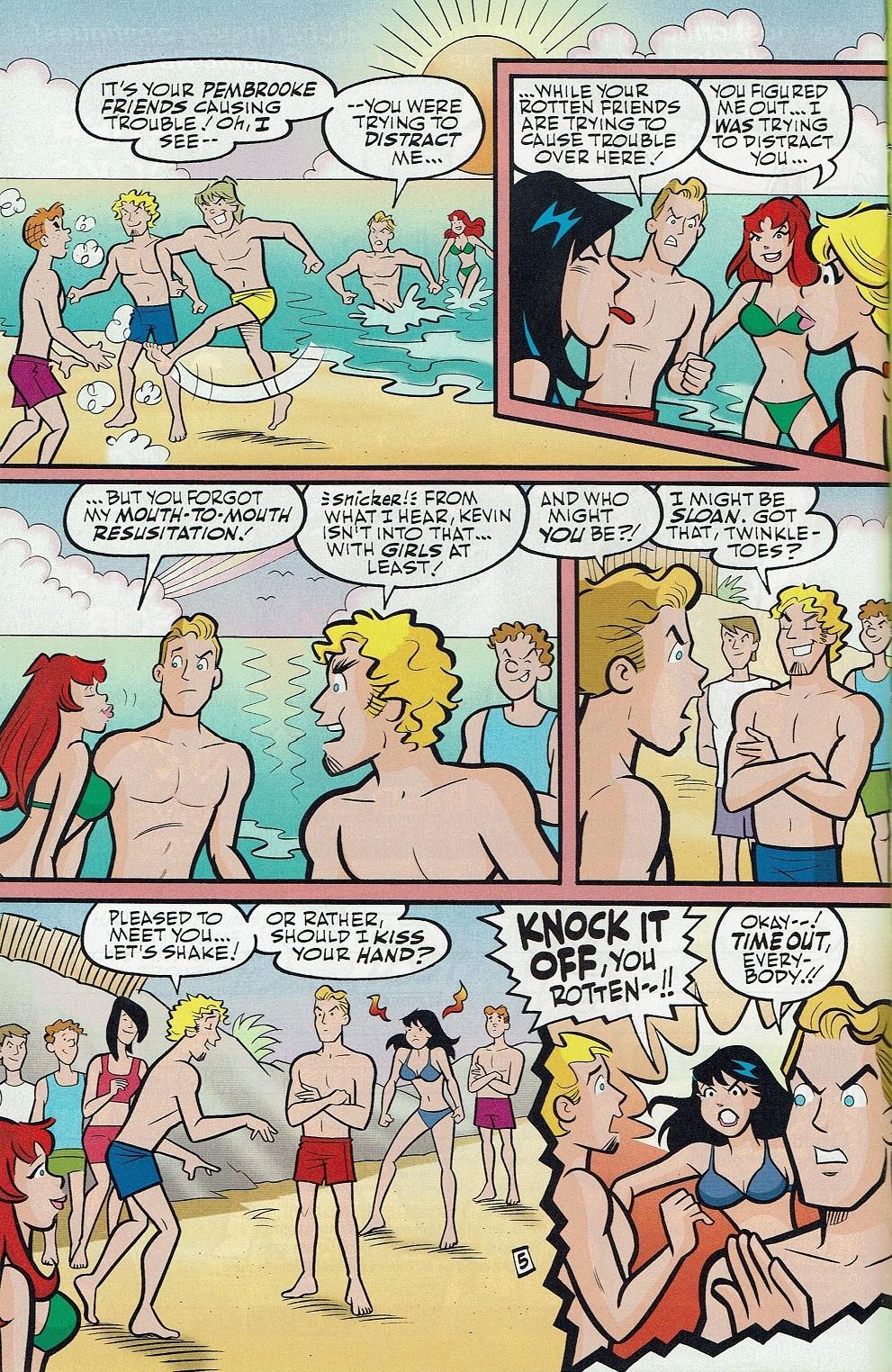 Read online Kevin Keller comic -  Issue #3 - 9