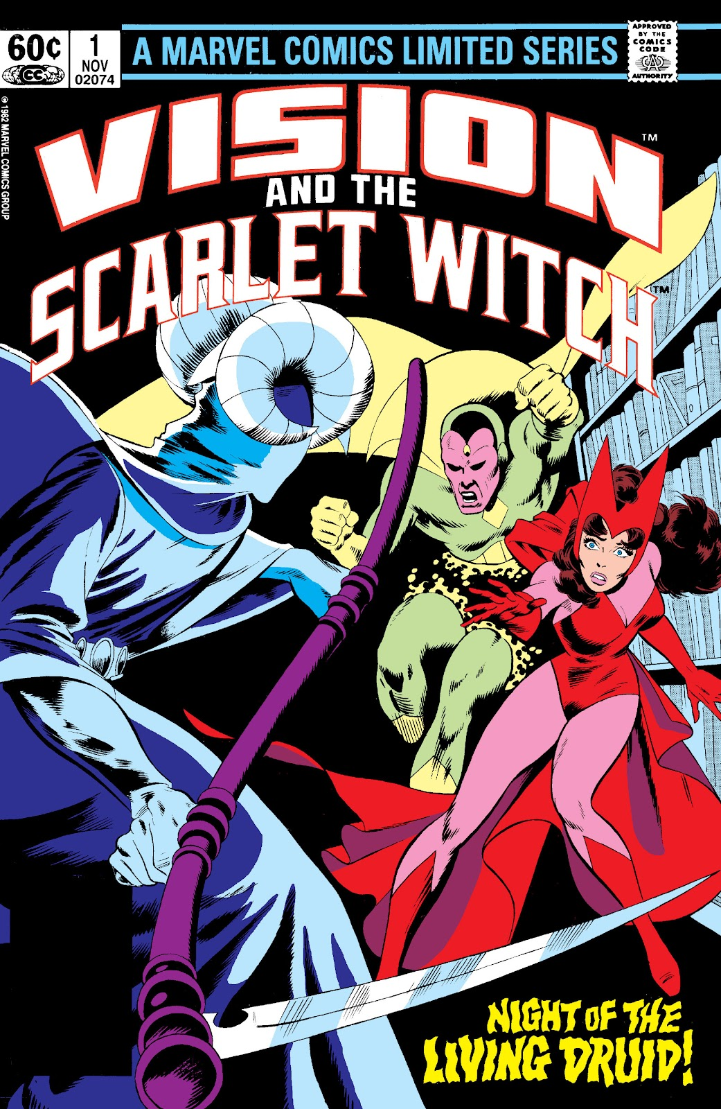 The Vision and the Scarlet Witch (1982) issue 1 - Page 1