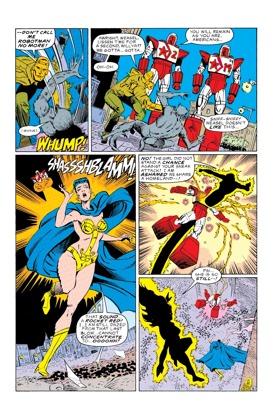 Doom Patrol and Suicide Squad Special issue Special 1 - Page 30