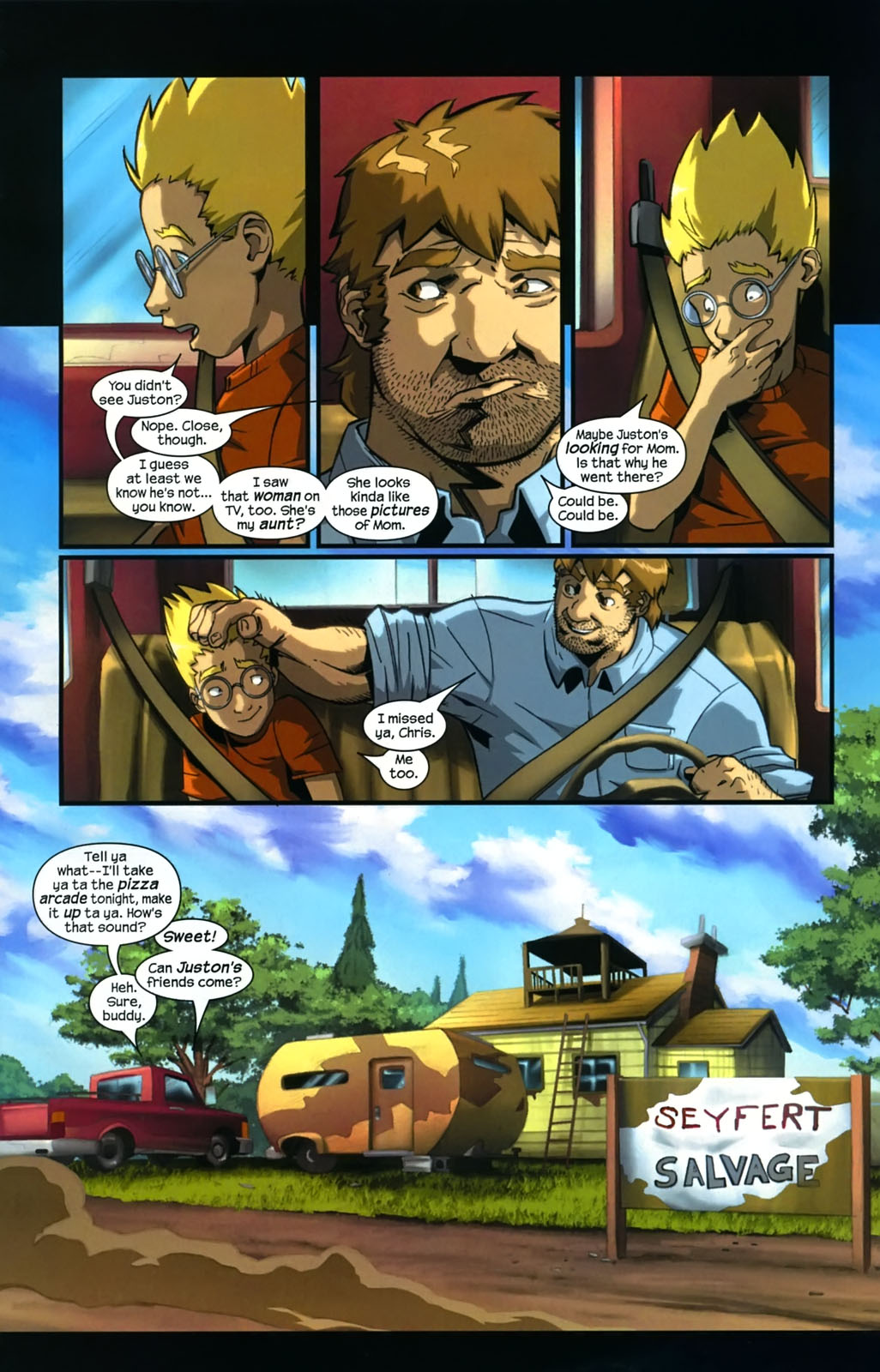 Read online Sentinel (2006) comic -  Issue #4 - 12