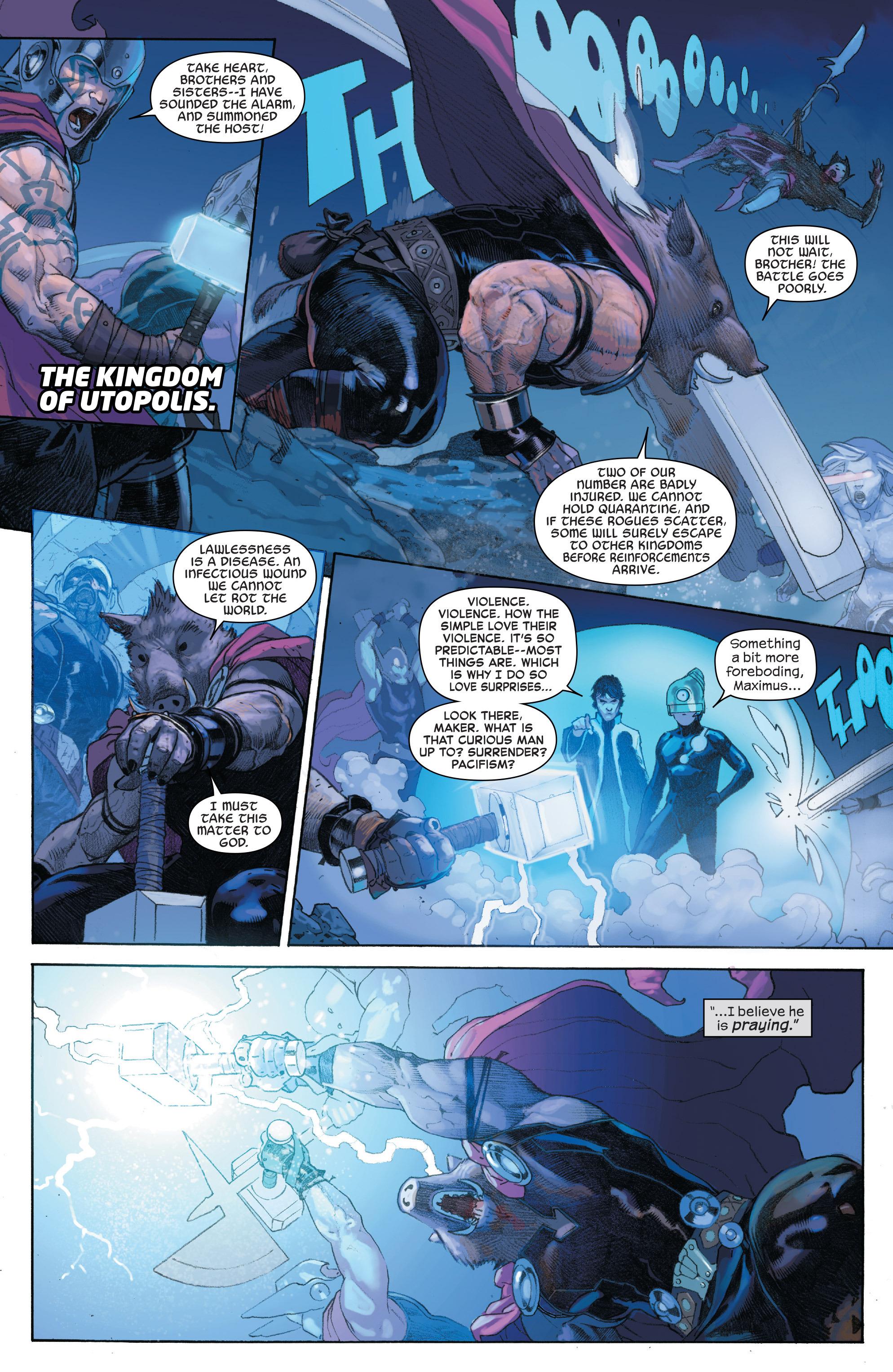 Read online Secret Wars comic -  Issue #4 - 19