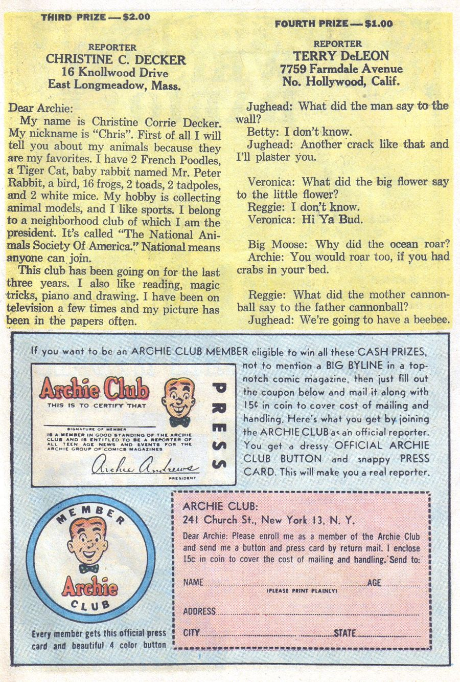 Read online Archie (1960) comic -  Issue #144 - 27