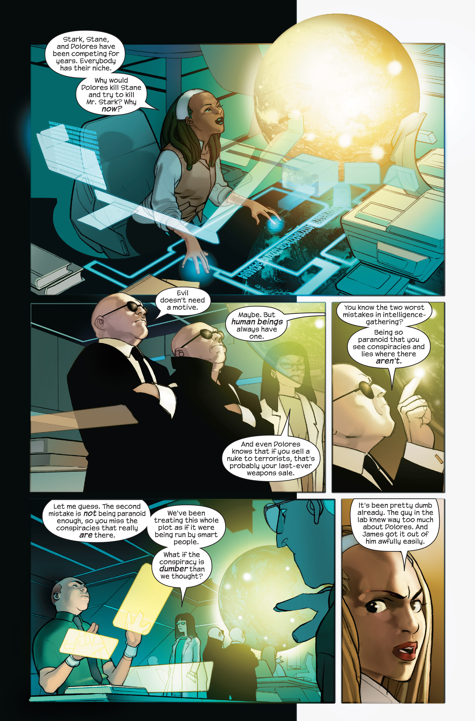 Read online Ultimate Iron Man II comic -  Issue #4 - 8