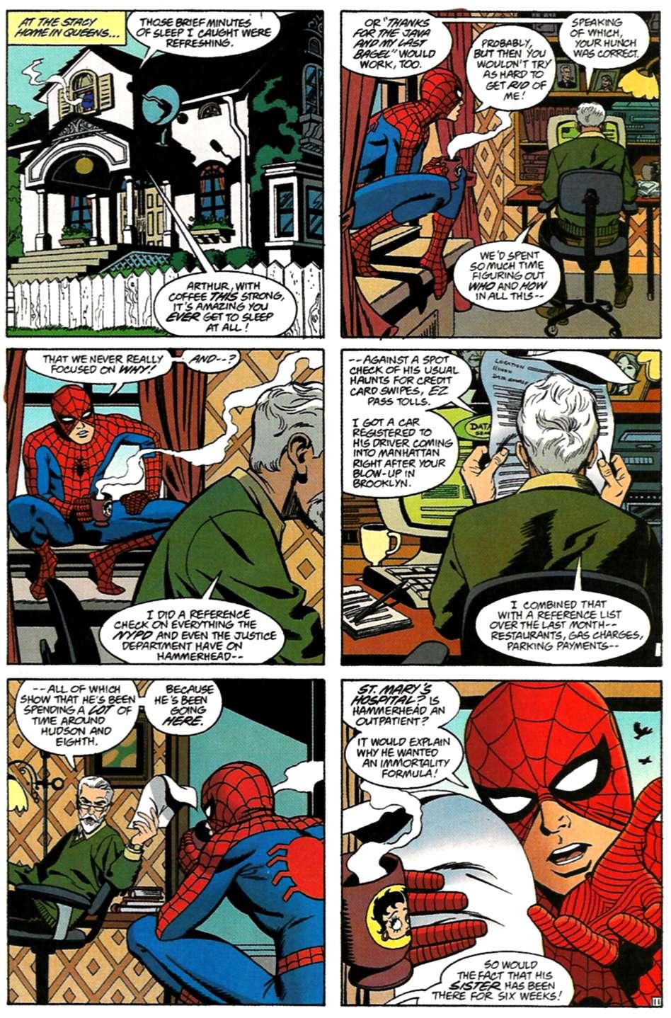 Read online Spider-Man: Lifeline comic -  Issue #3 - 12