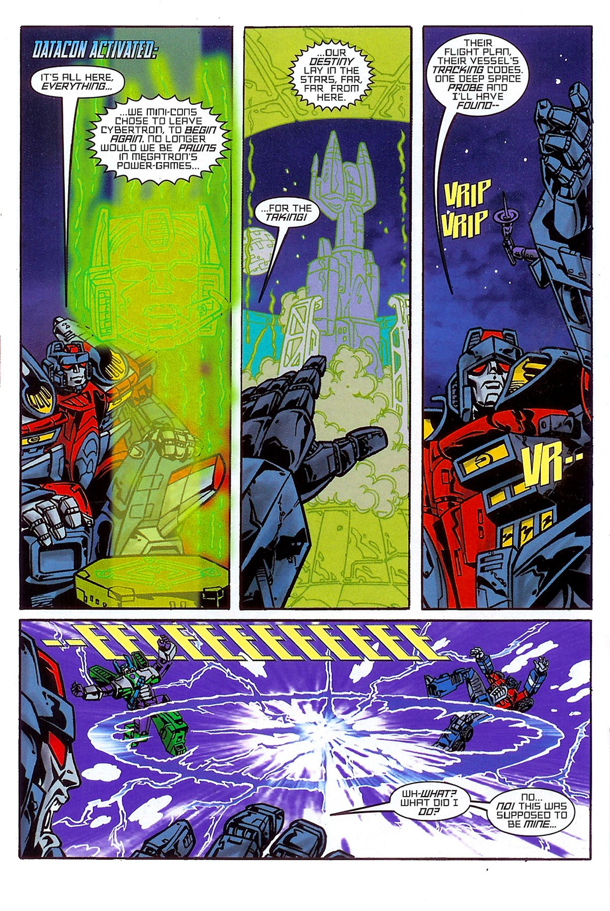 Read online Transformers: The Balance of Power comic -  Issue # Full - 13