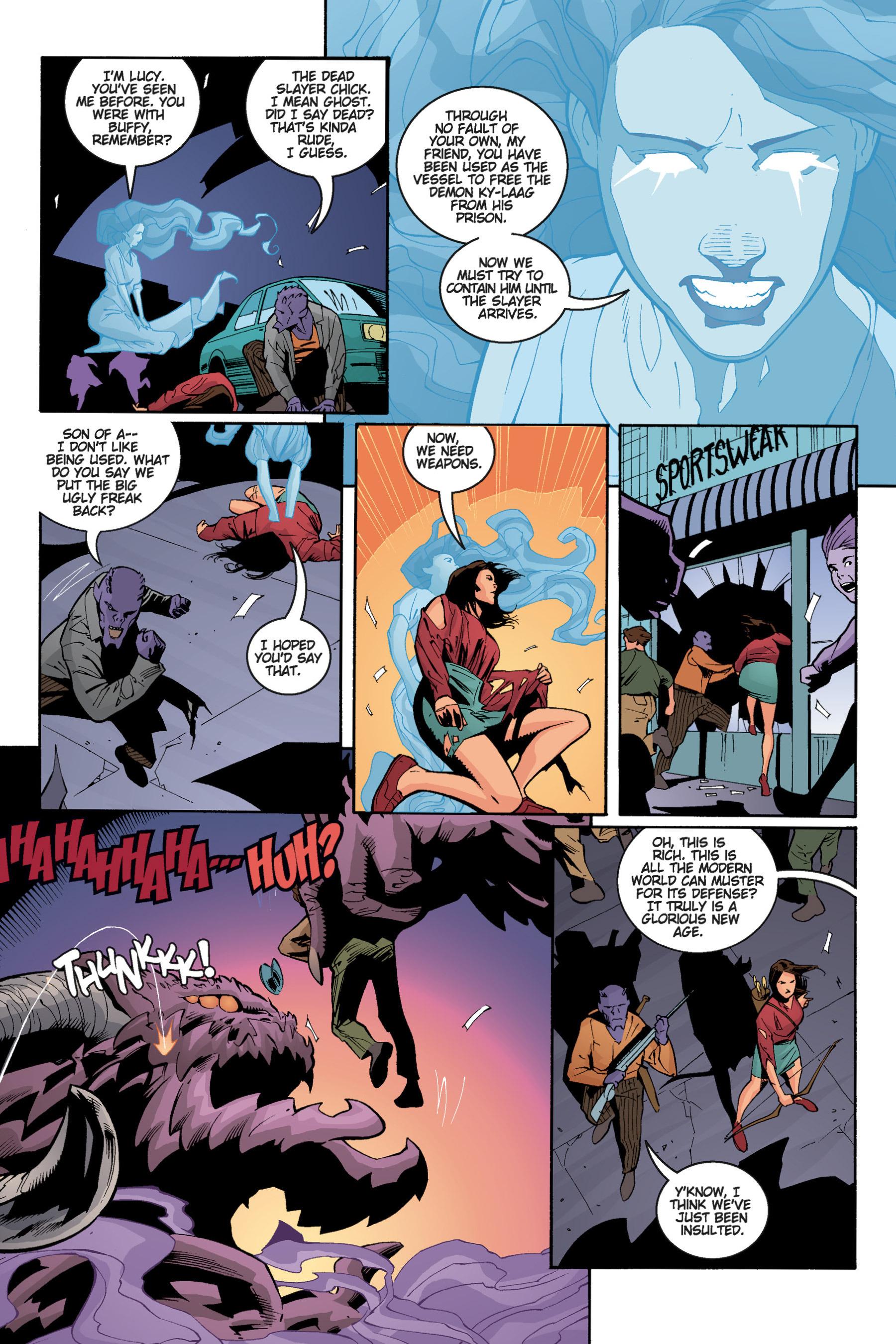 Read online Buffy the Vampire Slayer: Omnibus comic -  Issue # TPB 5 - 213