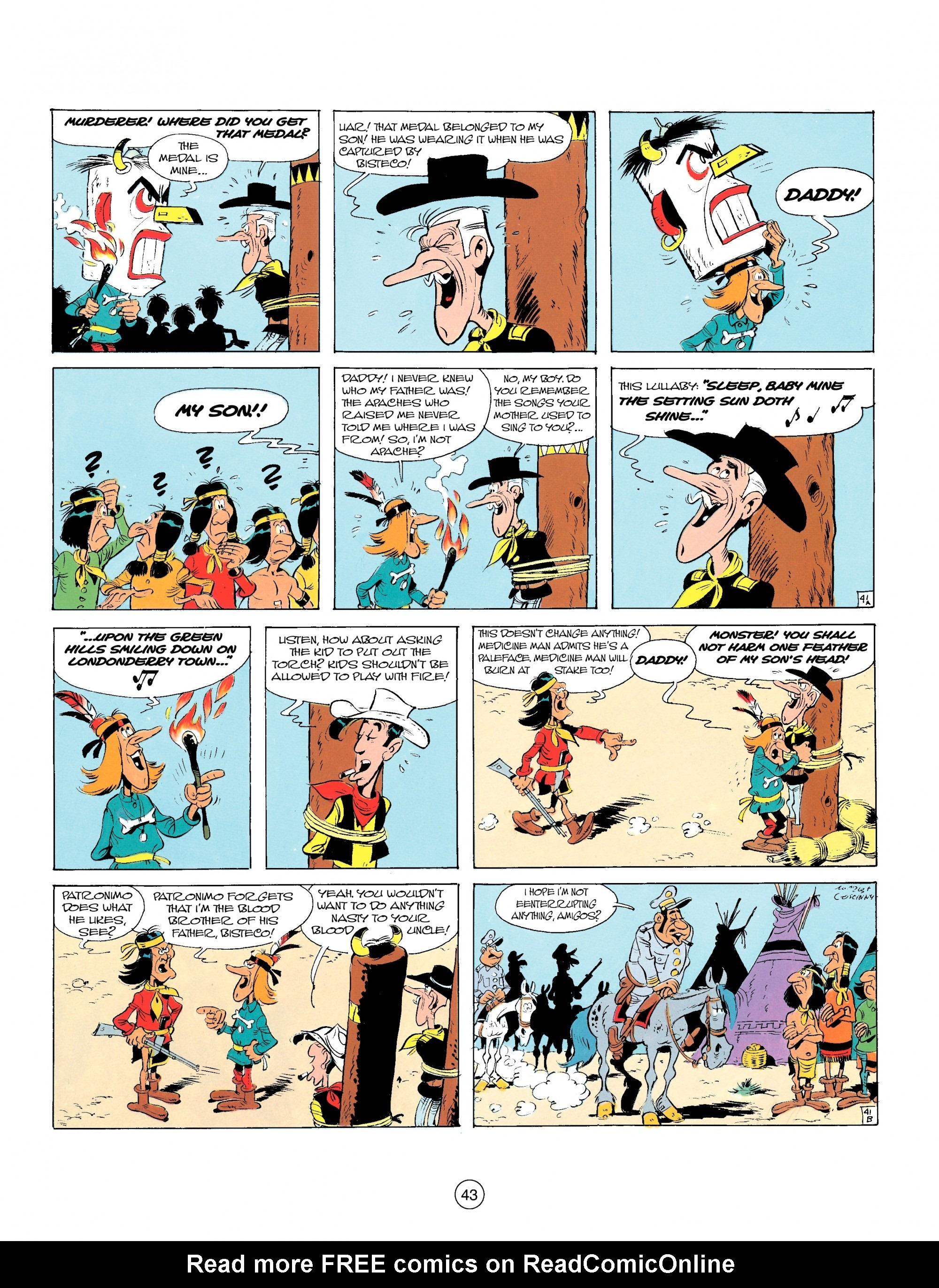 Read online A Lucky Luke Adventure comic -  Issue #17 - 43