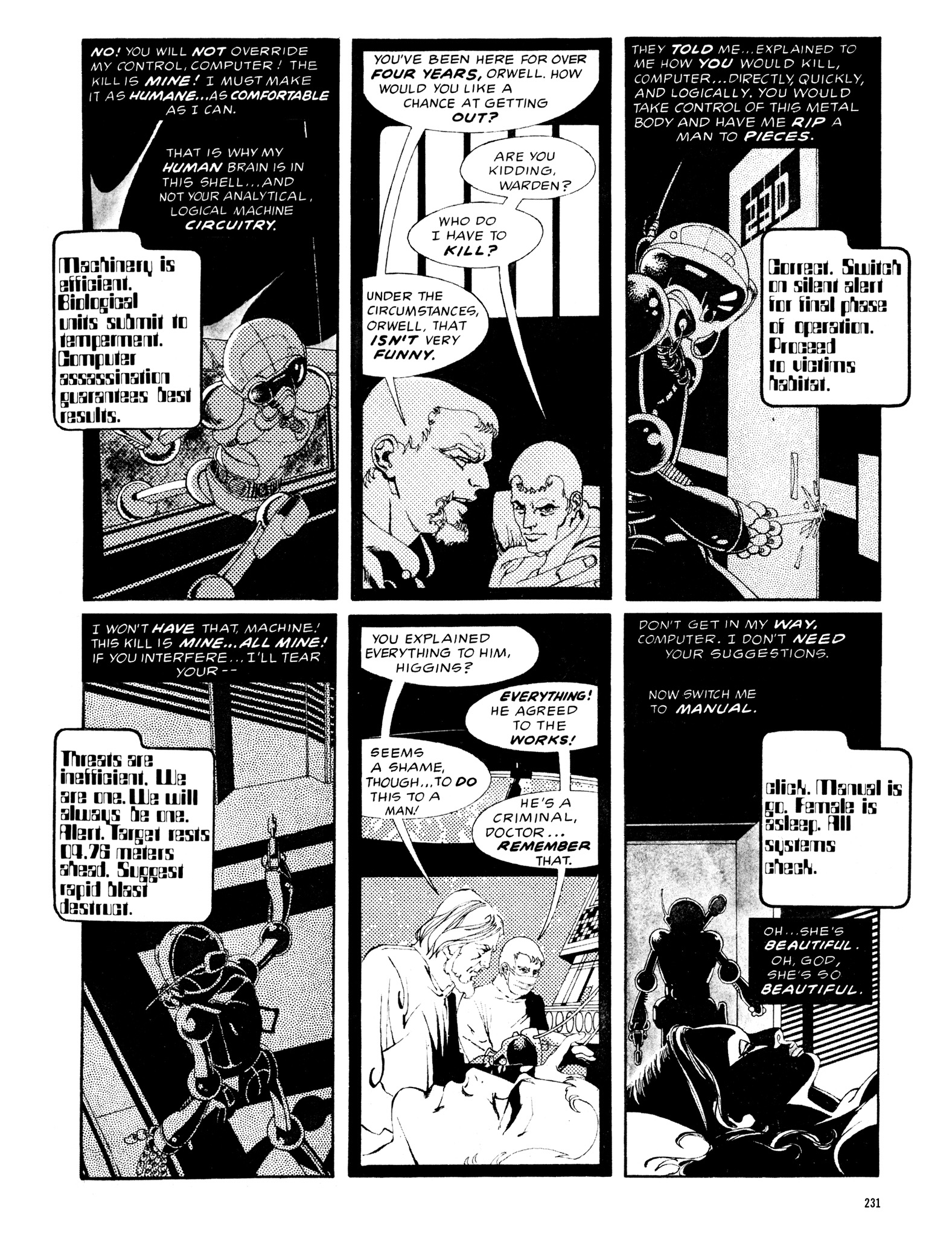 Read online Eerie Archives comic -  Issue # TPB 12 - 232