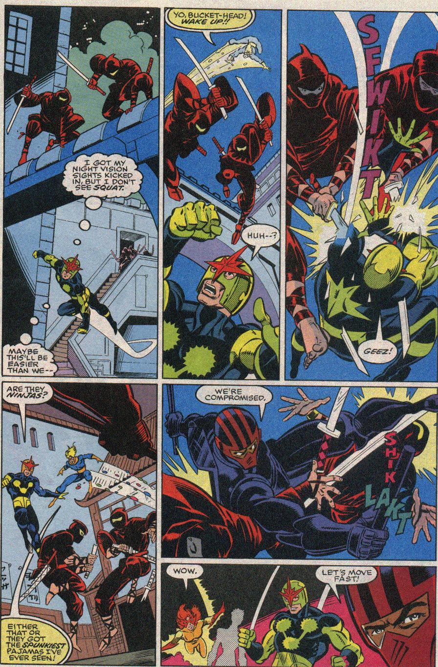 The New Warriors Issue #20 #24 - English 4