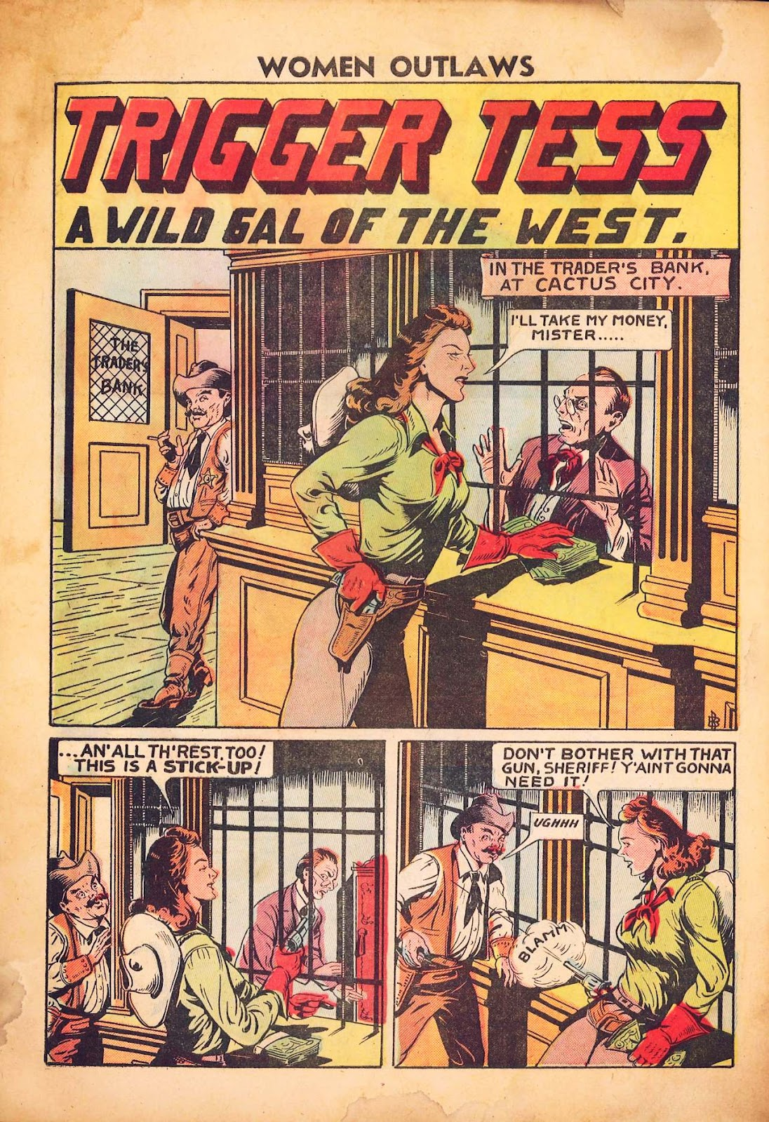 Read online Women Outlaws comic -  Issue #2 - 32