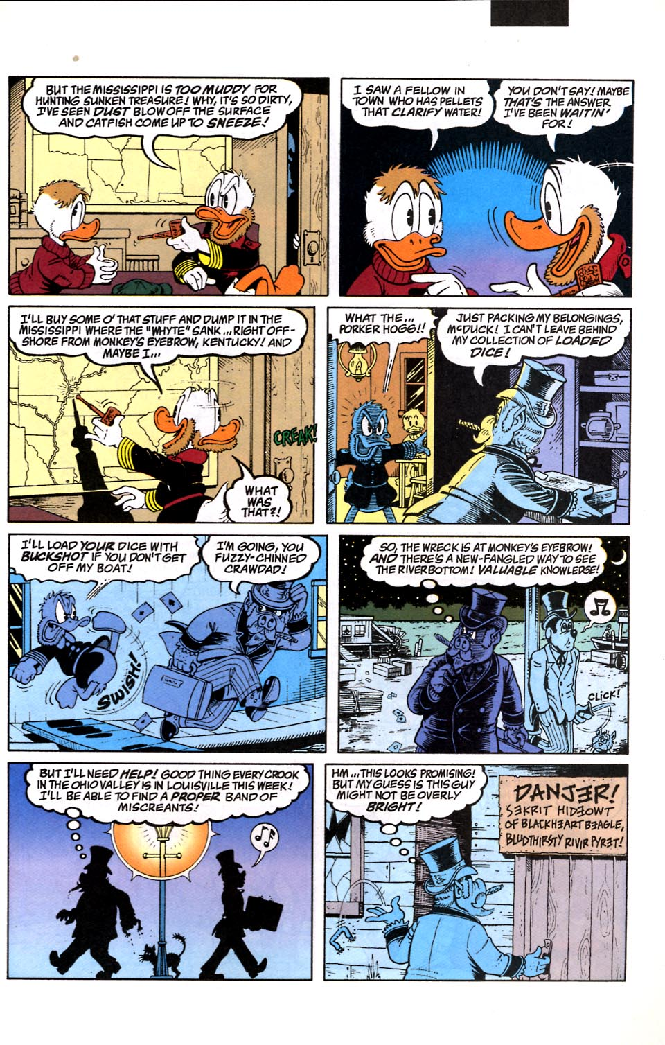 Read online Uncle Scrooge (1953) comic -  Issue #286 - 6