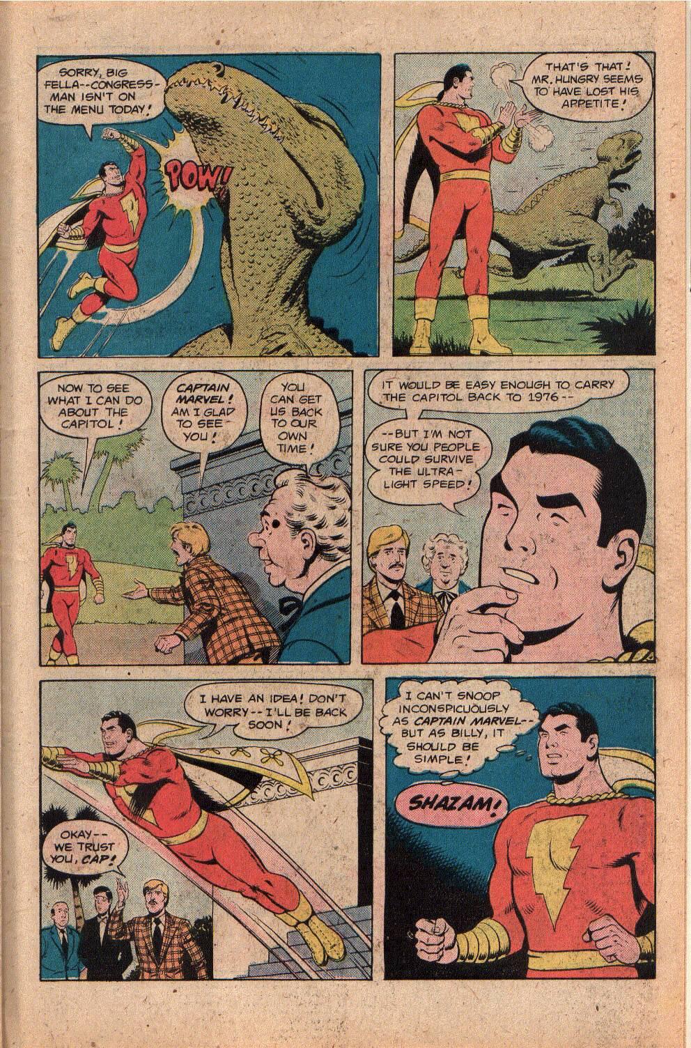 Read online Shazam! (1973) comic -  Issue #26 - 27