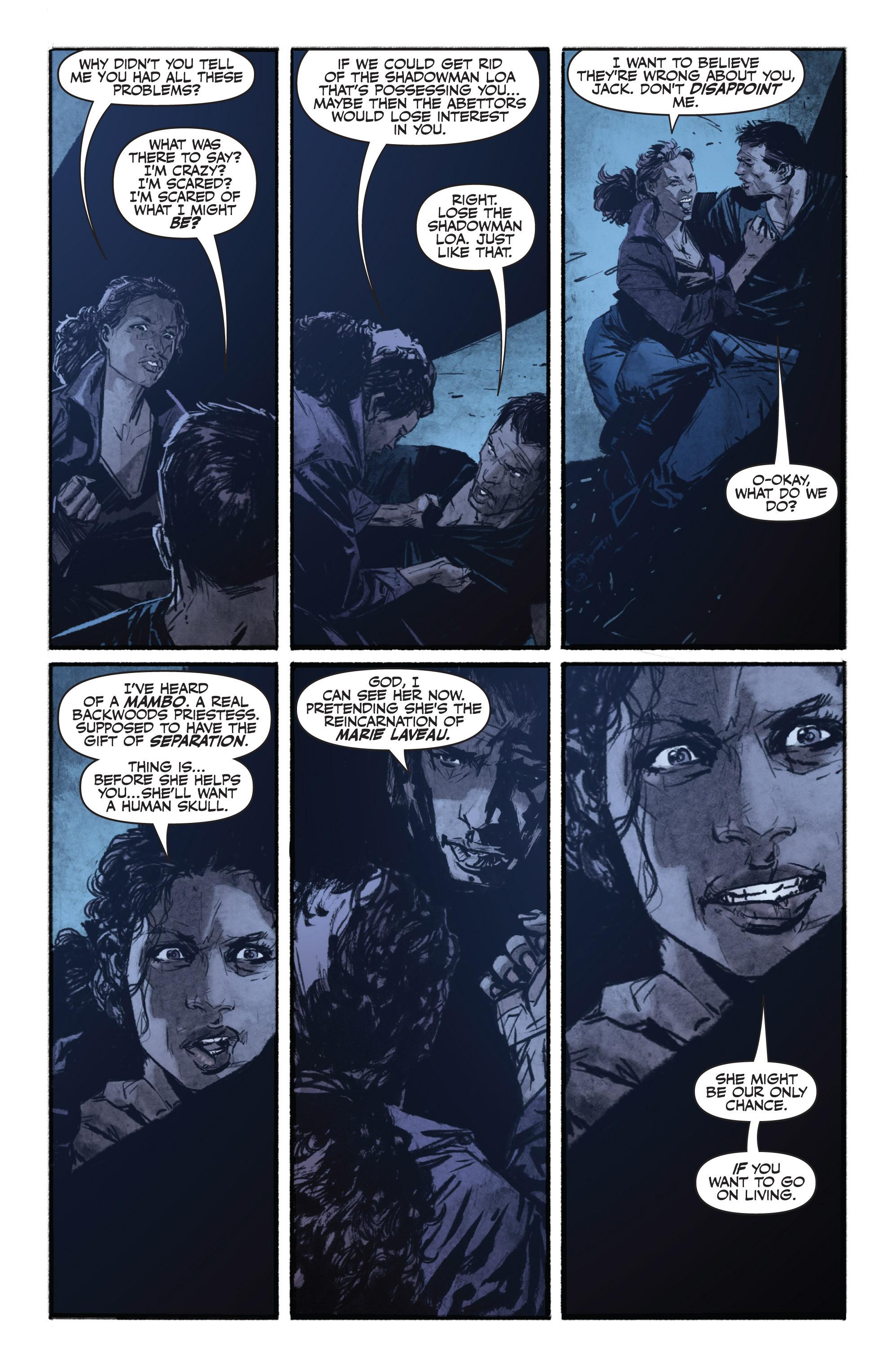 Read online Shadowman (2012) comic -  Issue #13 - 8