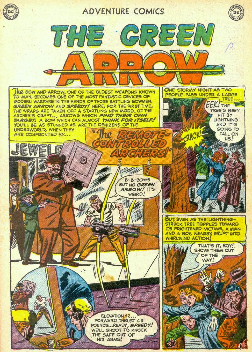 Read online Adventure Comics (1938) comic -  Issue #172 - 33
