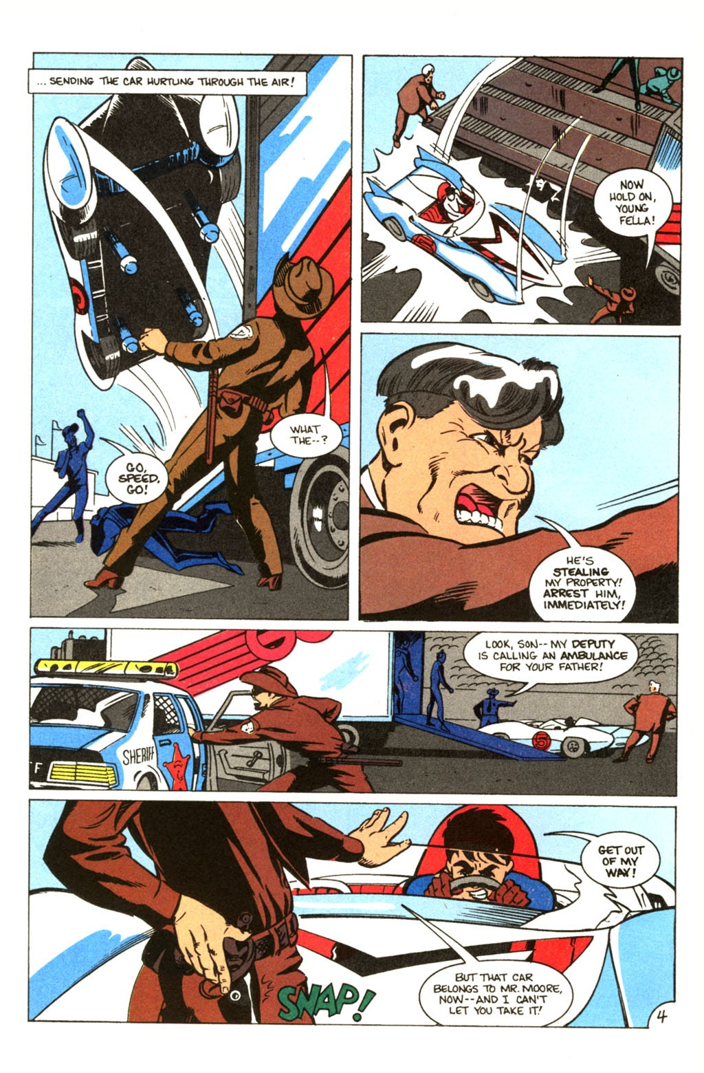 Speed Racer (1987) issue 30 - Page 5