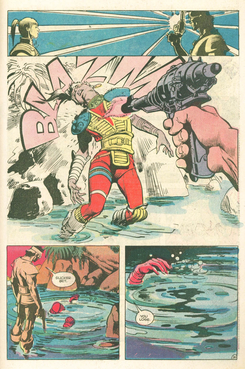 Read online Atari Force (1984) comic -  Issue #11 - 22