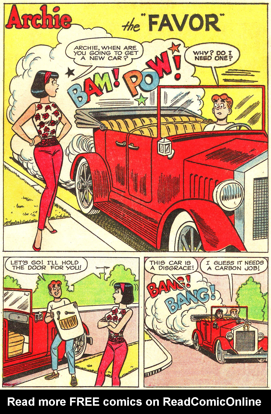 Read online Archie (1960) comic -  Issue #157 - 29