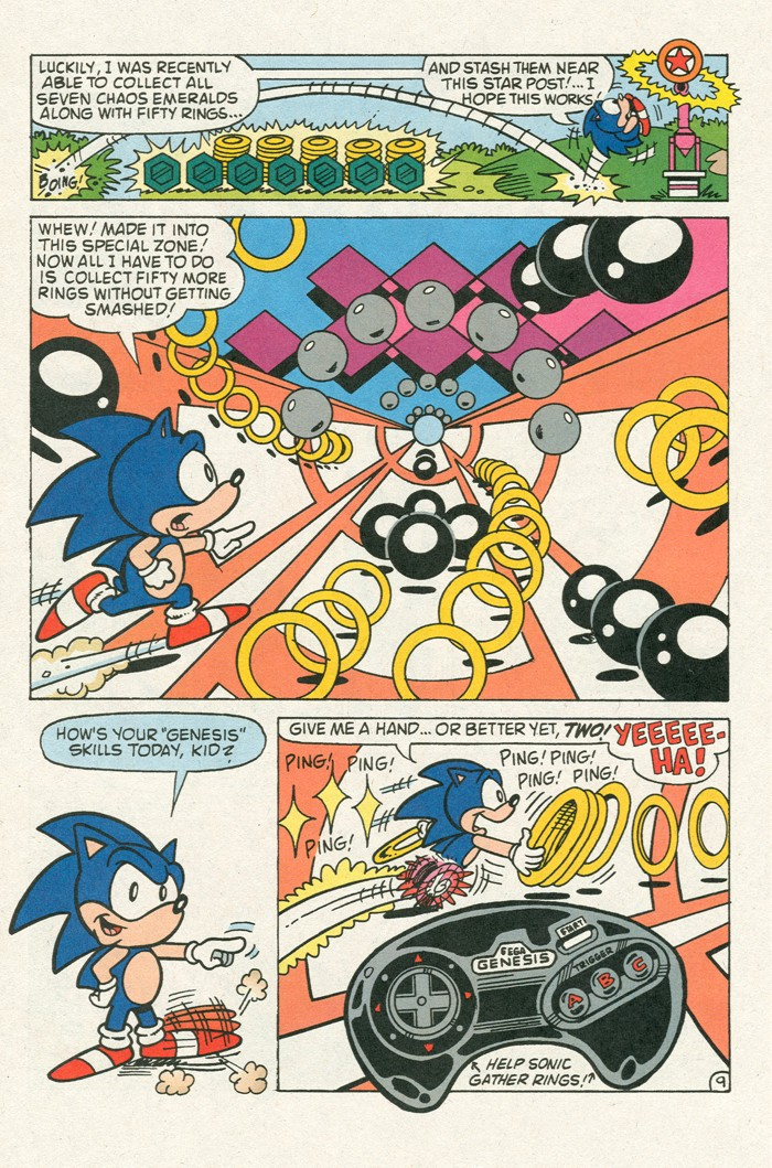 Read online Sonic Super Special comic -  Issue #3 - Sonic Firsts - 33