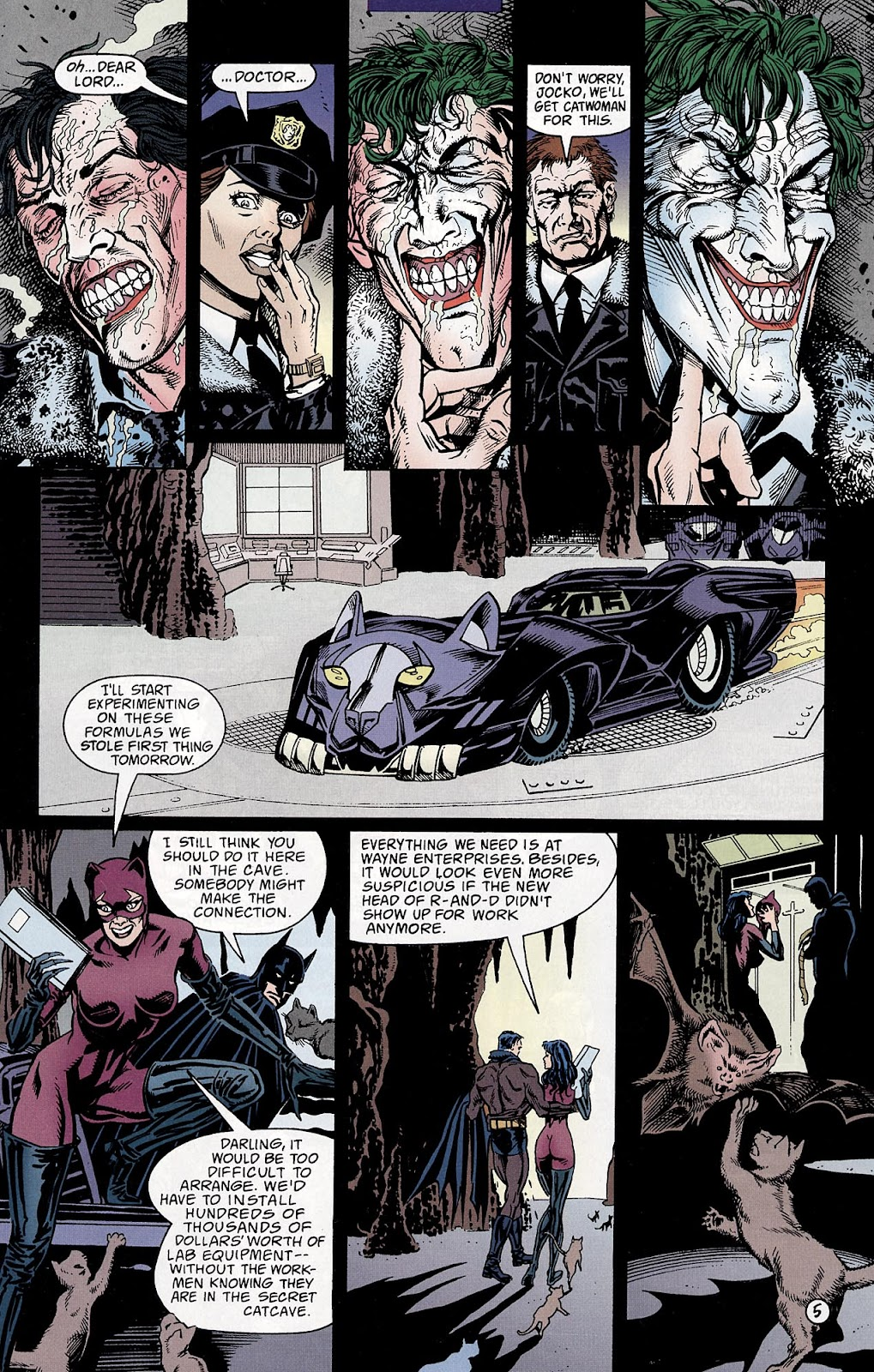 Catwoman (1993) Annual 3 #3 - English 6