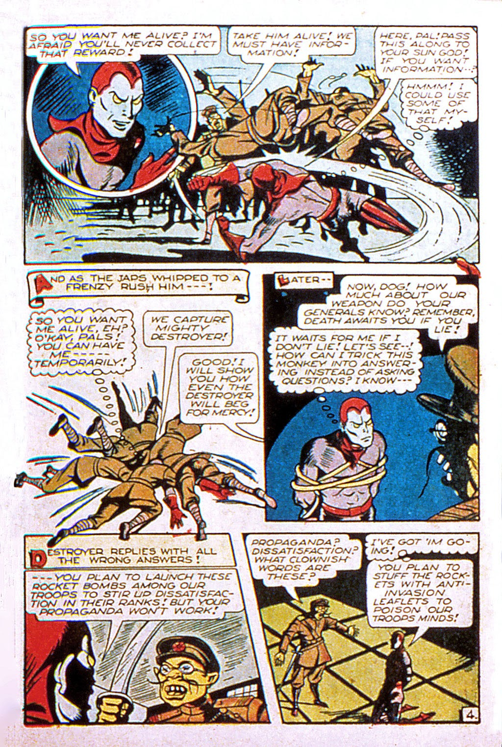 Read online Mystic Comics (1944) comic -  Issue #2 - 31
